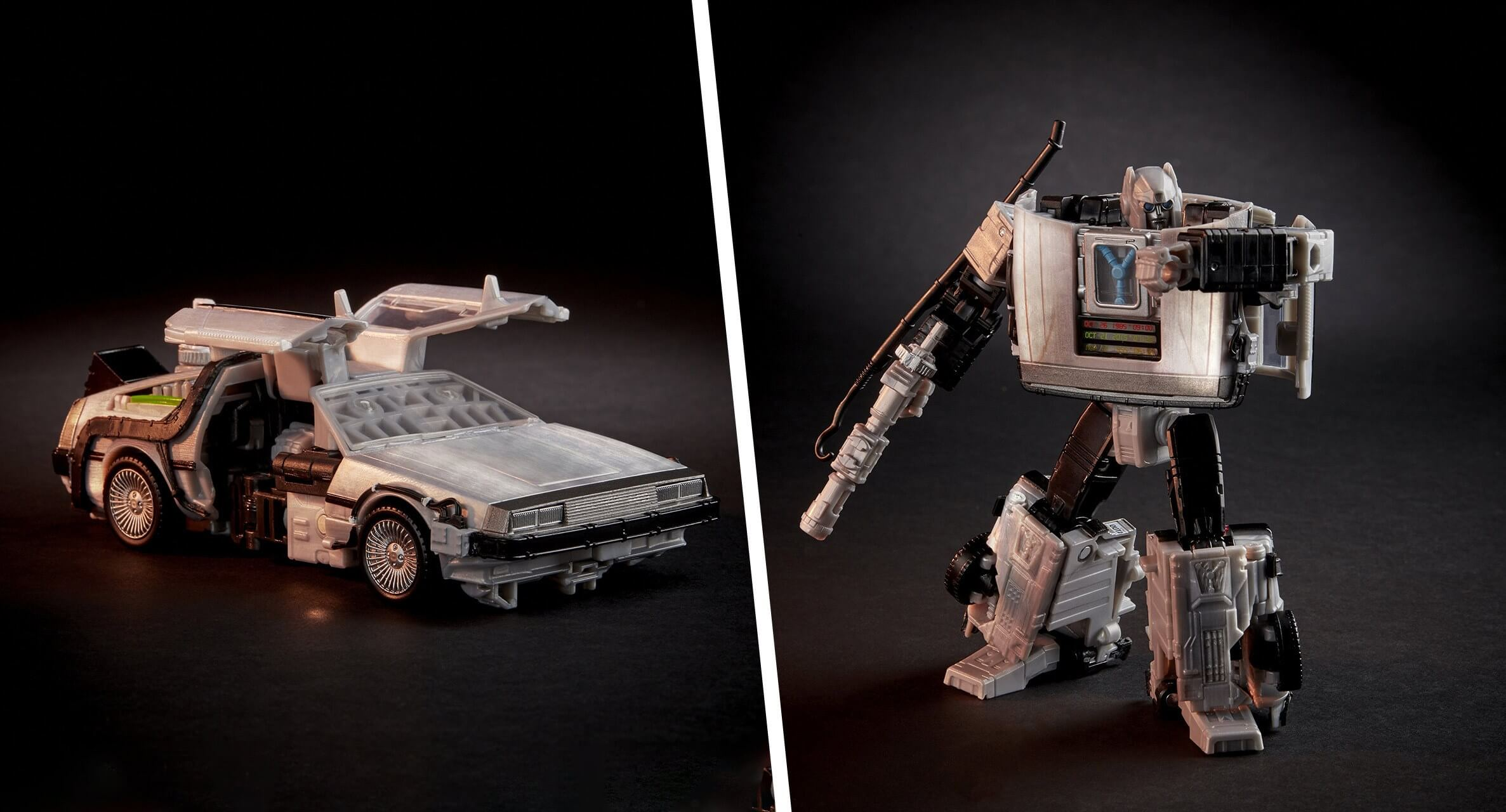 Check out this Back to the Future/Transformers crossover figure