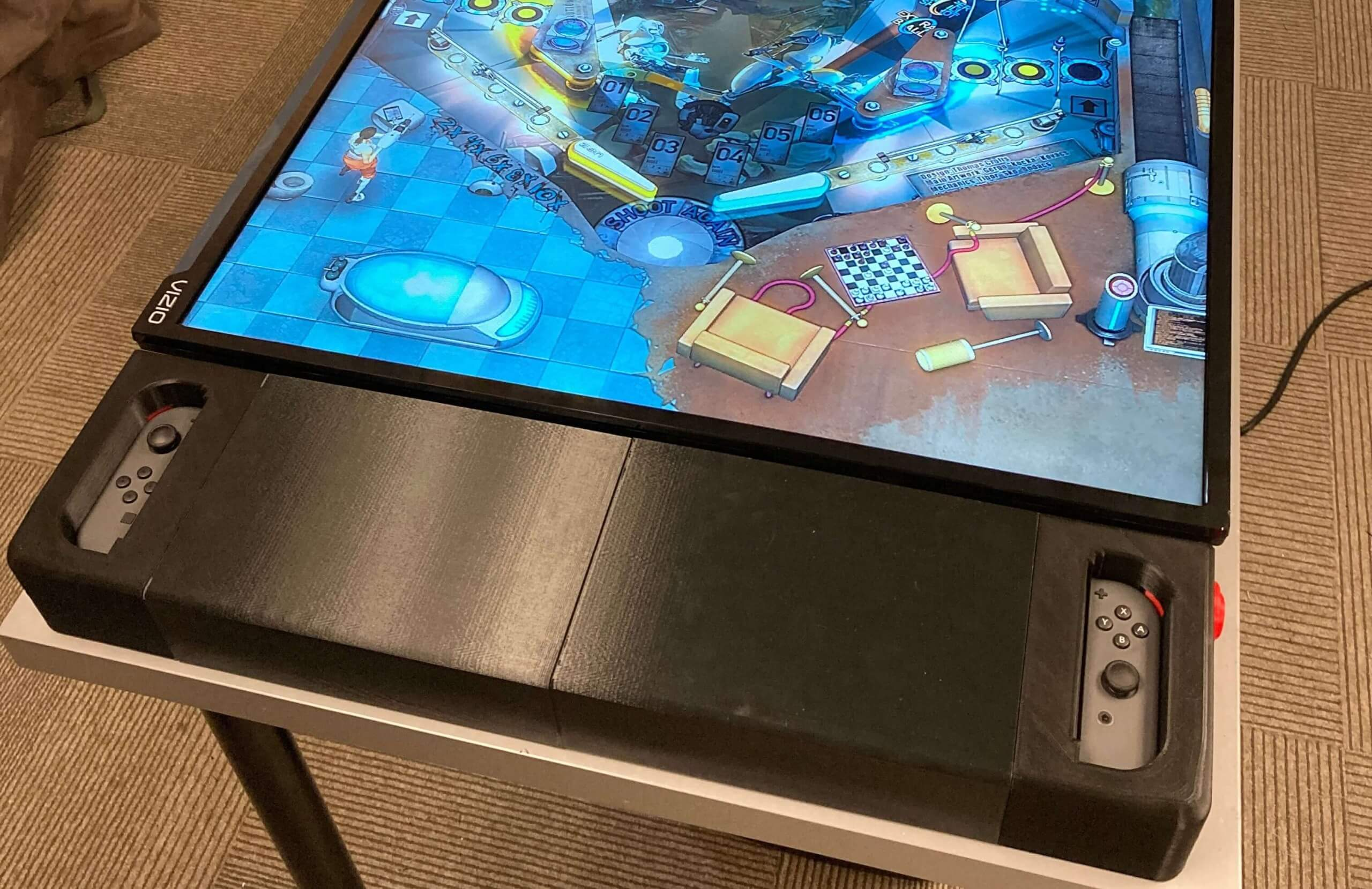 Turn your Switch into a full-size pinball machine with a 3D printer