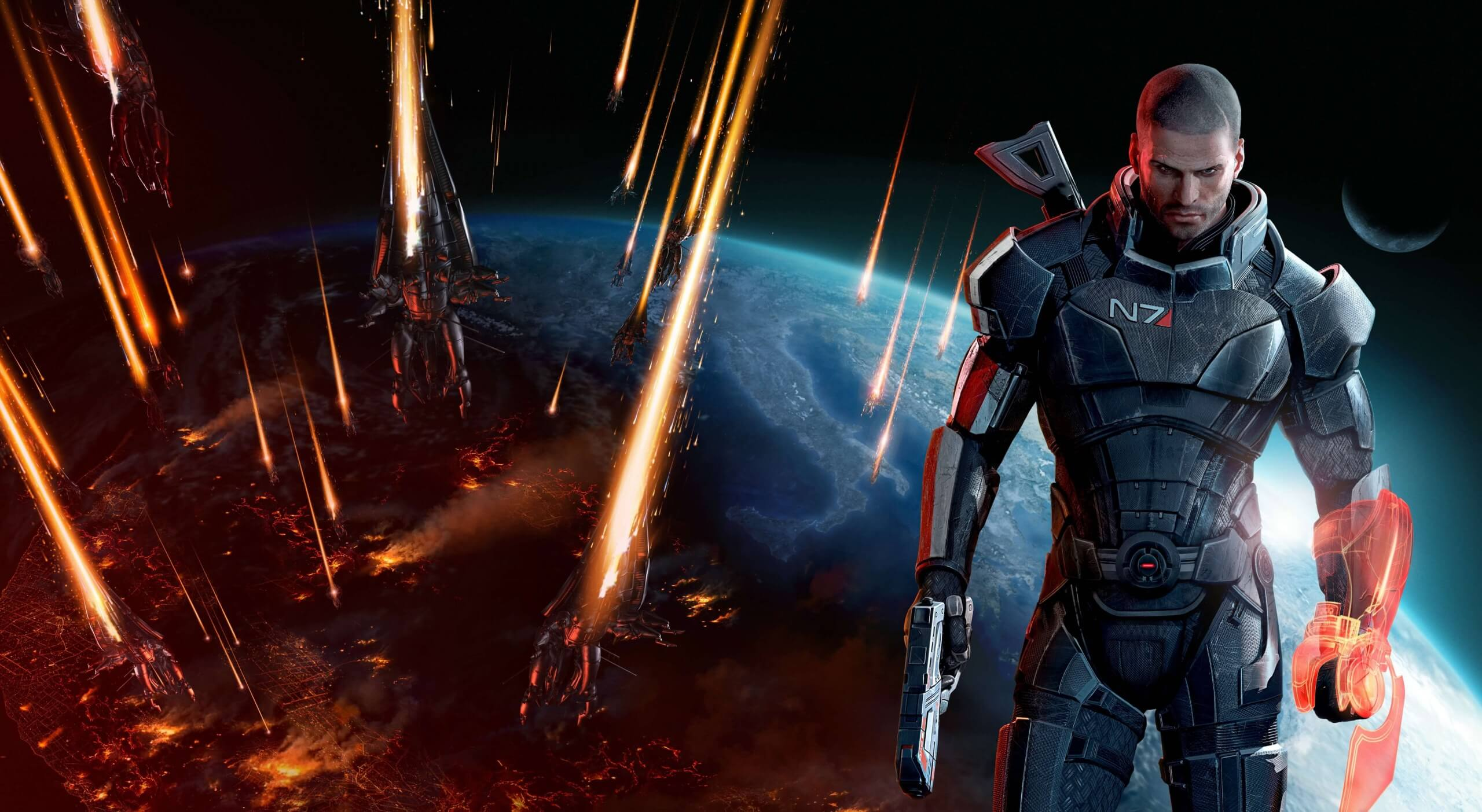 Mass Effect art book listed on Amazon sparks more rumors of a trilogy remake