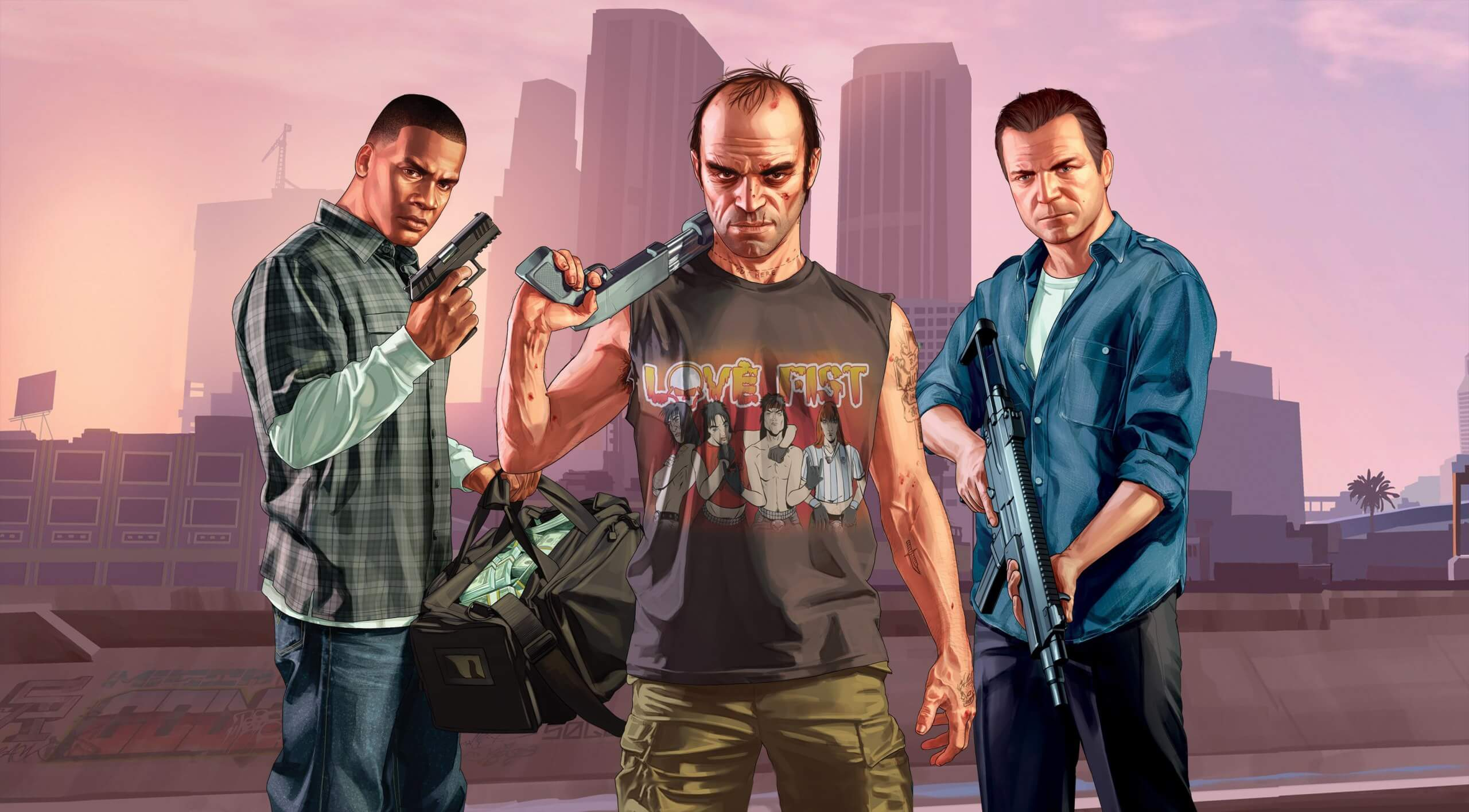 Grand Theft Auto V might be getting the VR treatment