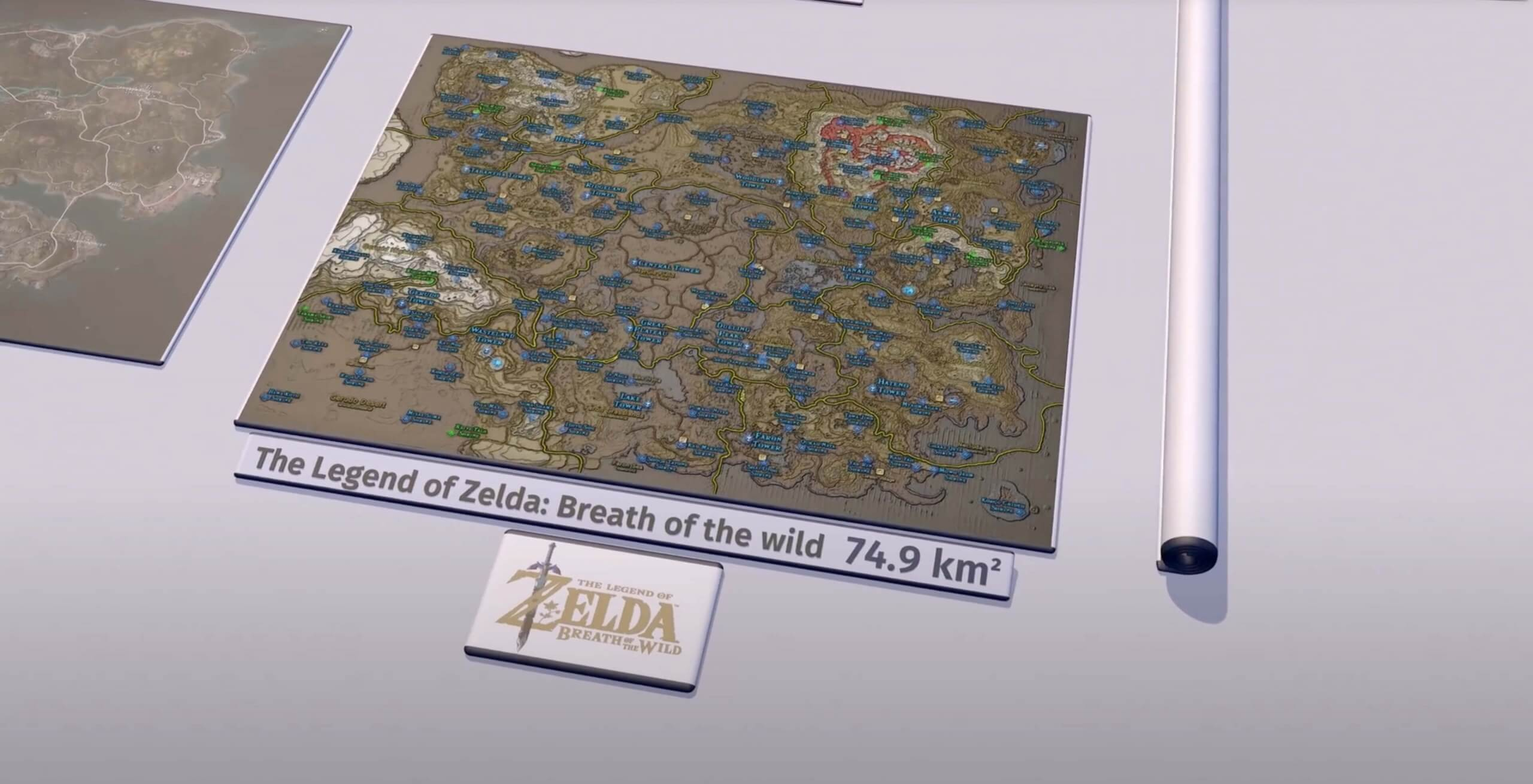 Your favorite video game maps, visualized