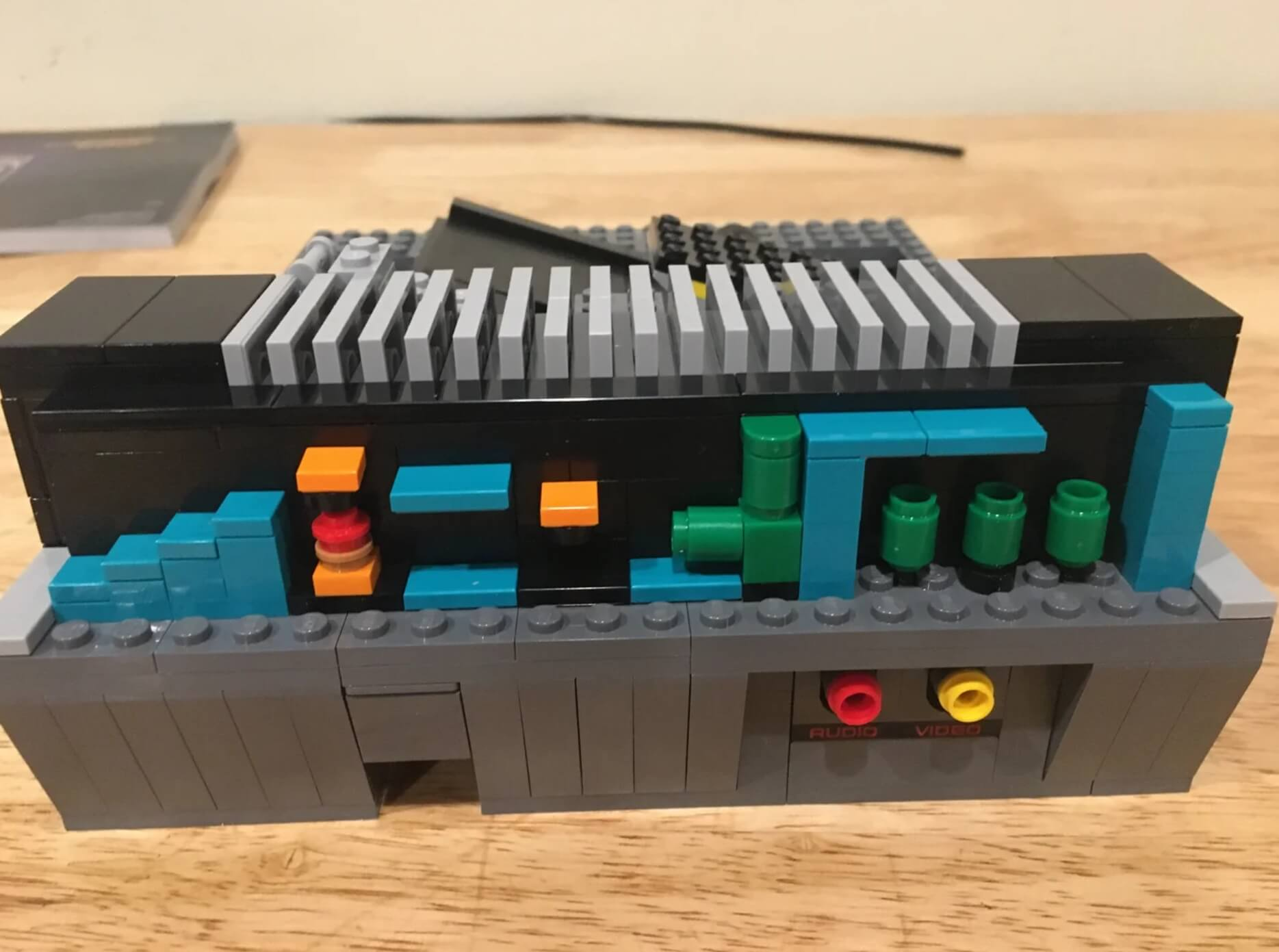 , Check out what Lego hid inside its buildable Nintendo Entertainment System (spoiler)