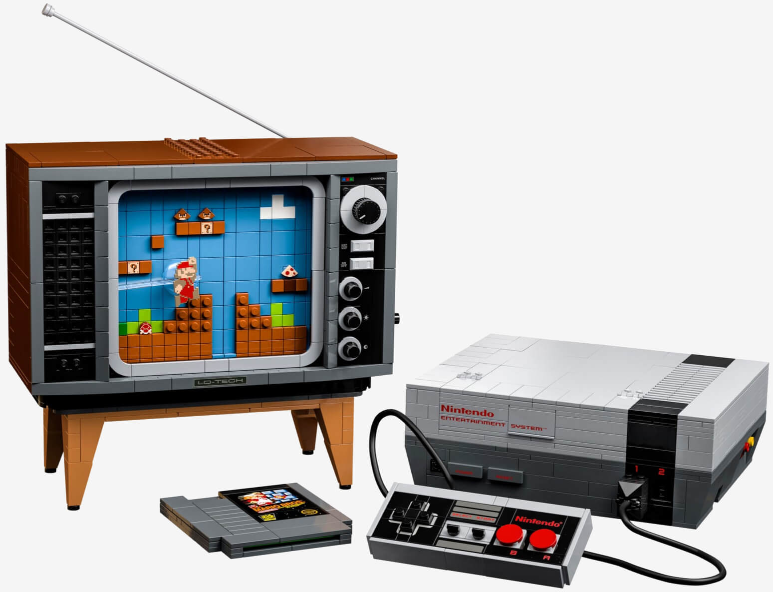 Check out what Lego hid inside its buildable Nintendo Entertainment System (spoiler)