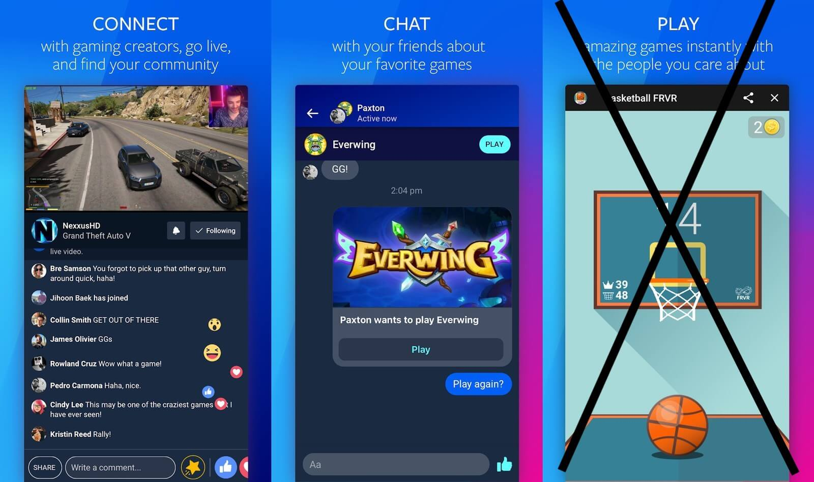 Facebook blames Apple's App Store policies for launching incomplete Facebook Gaming on iOS 1