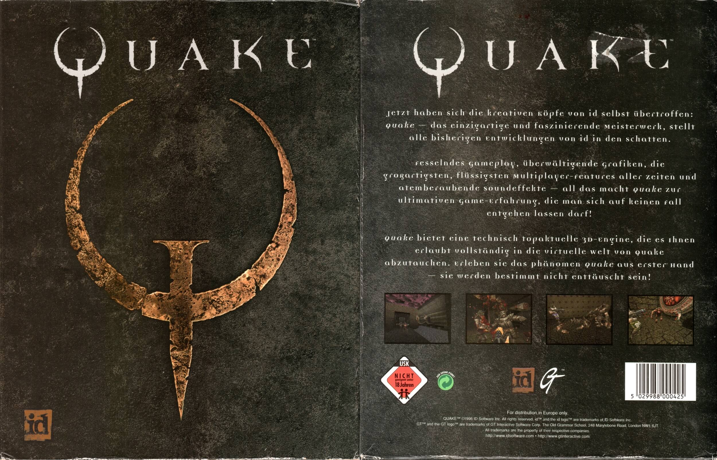 Download your free copy of Quake 1 this weekend courtesy of Bethesda