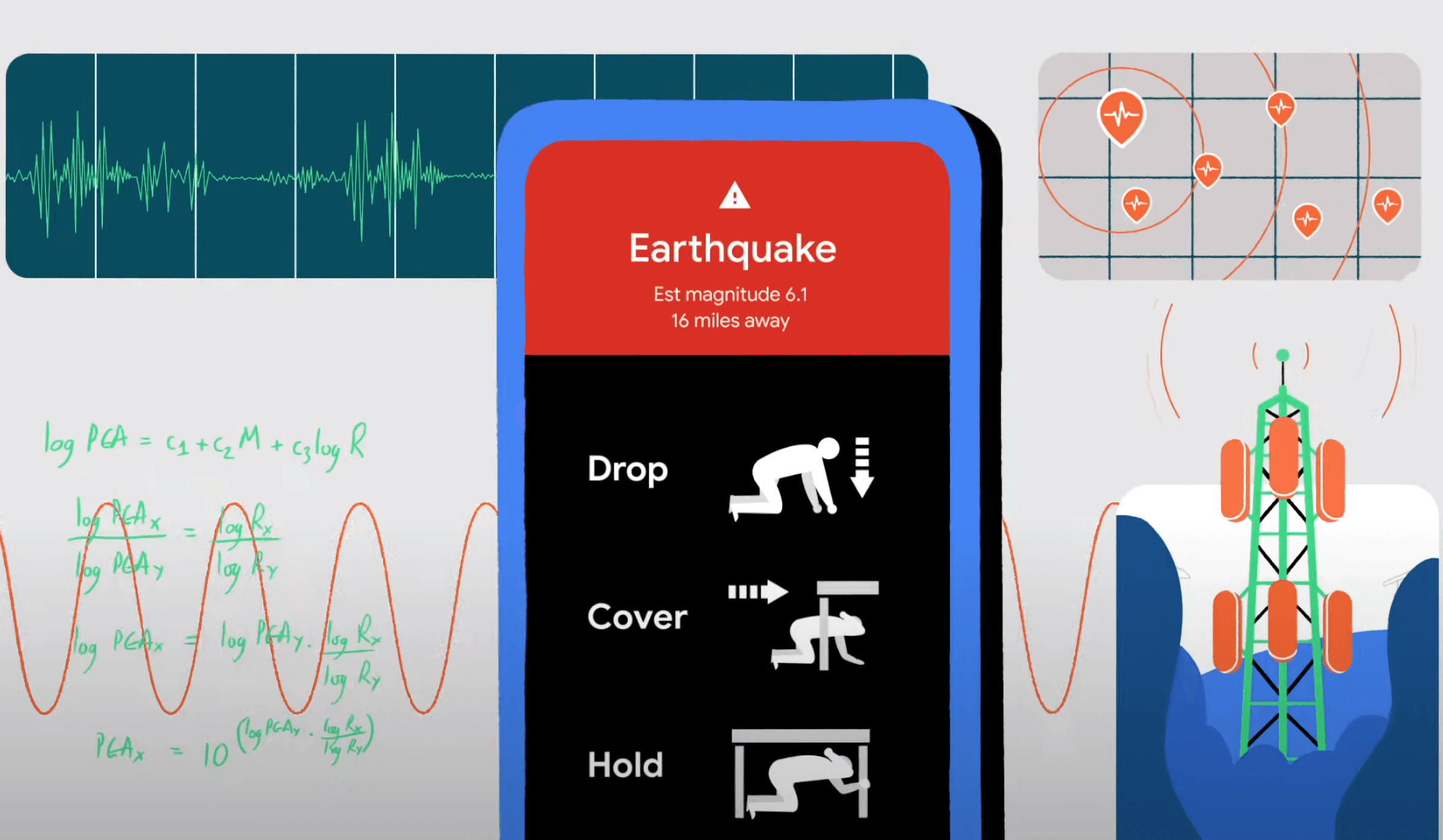 Google will use Android smartphones as earthquake detection devices