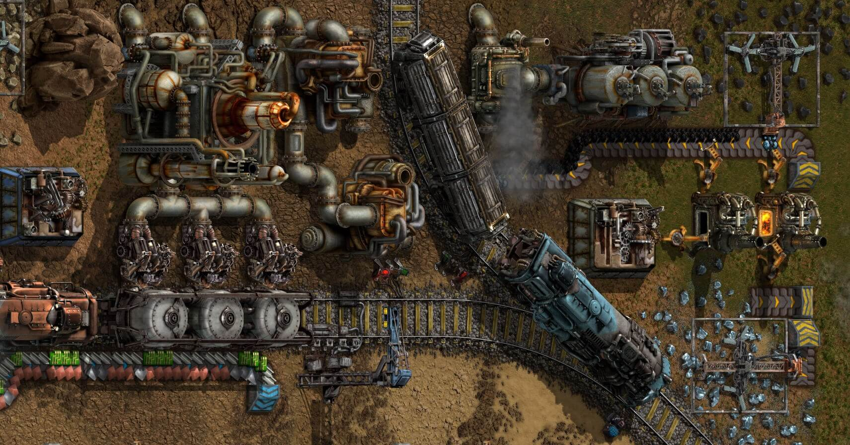 Factorio exits Early Access after eight years of work
