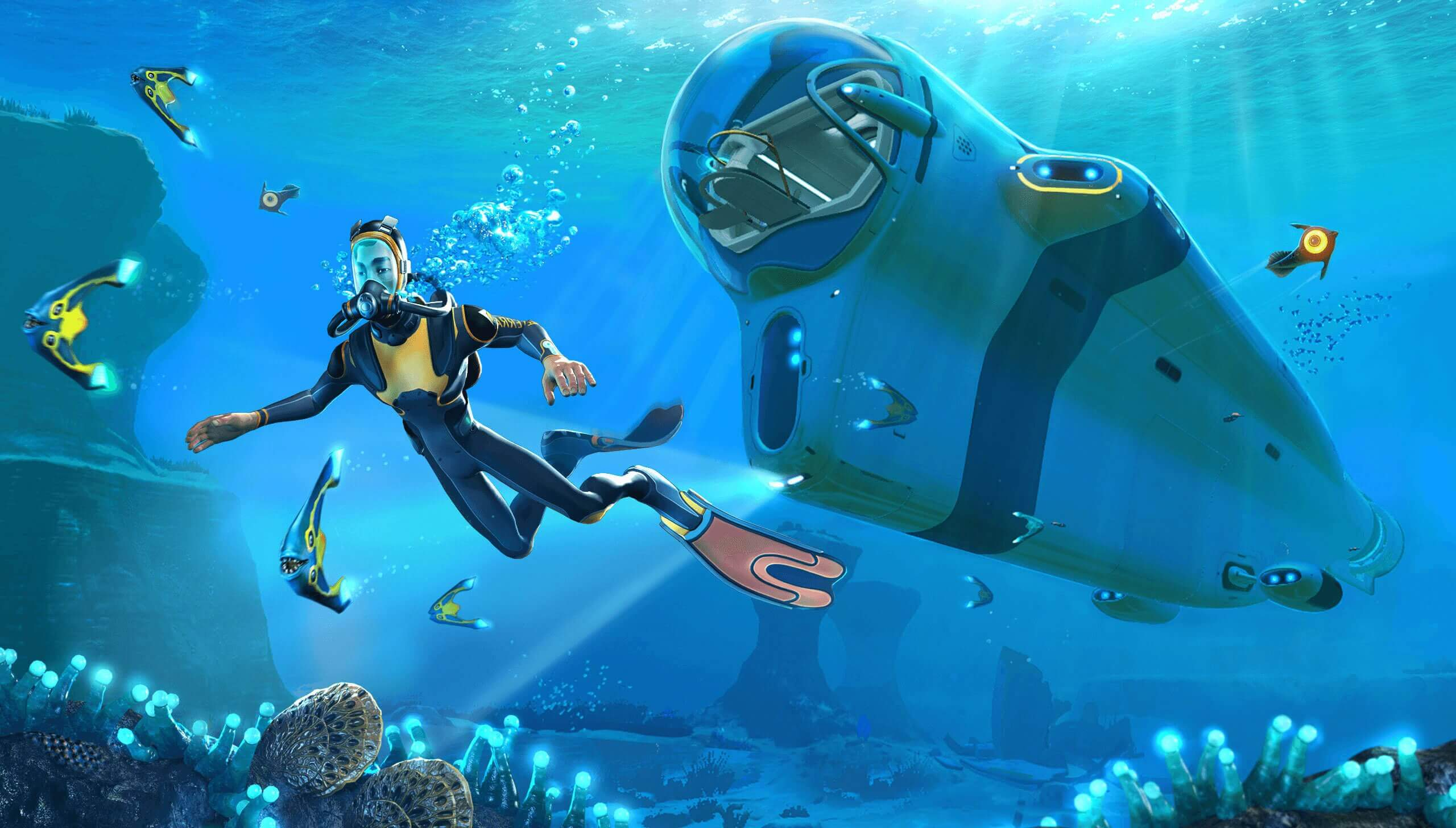 Nintendo Switch gets two Subnautica ports in 2021