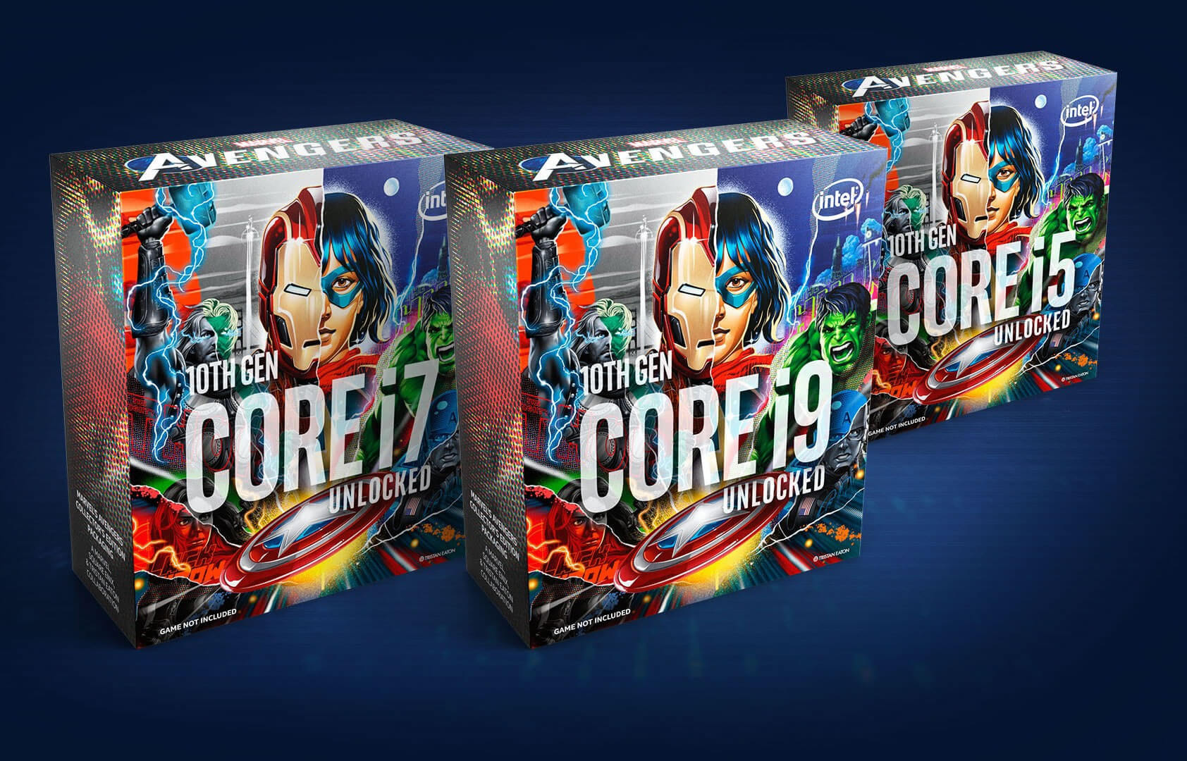 Intel confirms Marvel's Avengers Collector's Edition CPUs: cool packaging, but no game (updated)