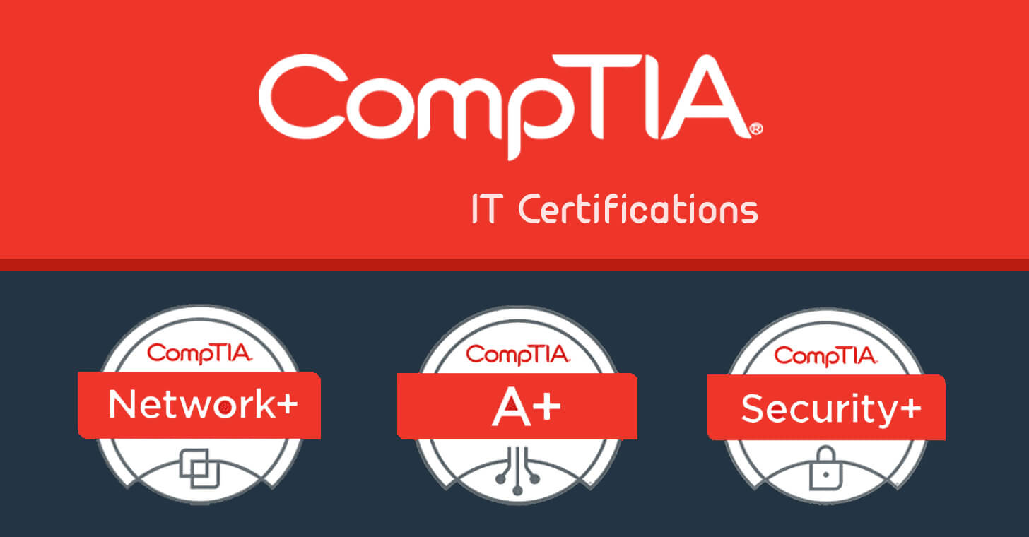 Get certified with 14 CompTIA training courses: 97% off for a limited time