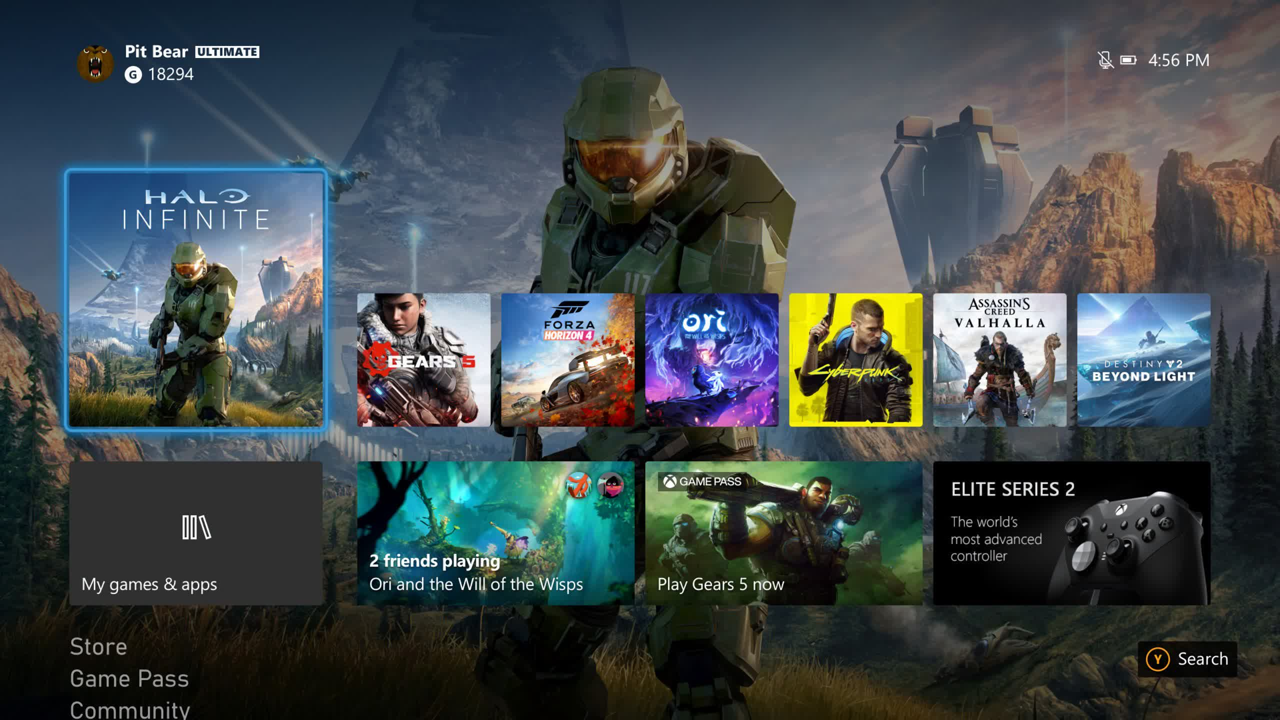 The redesigned Xbox user interface hits Insiders' consoles today