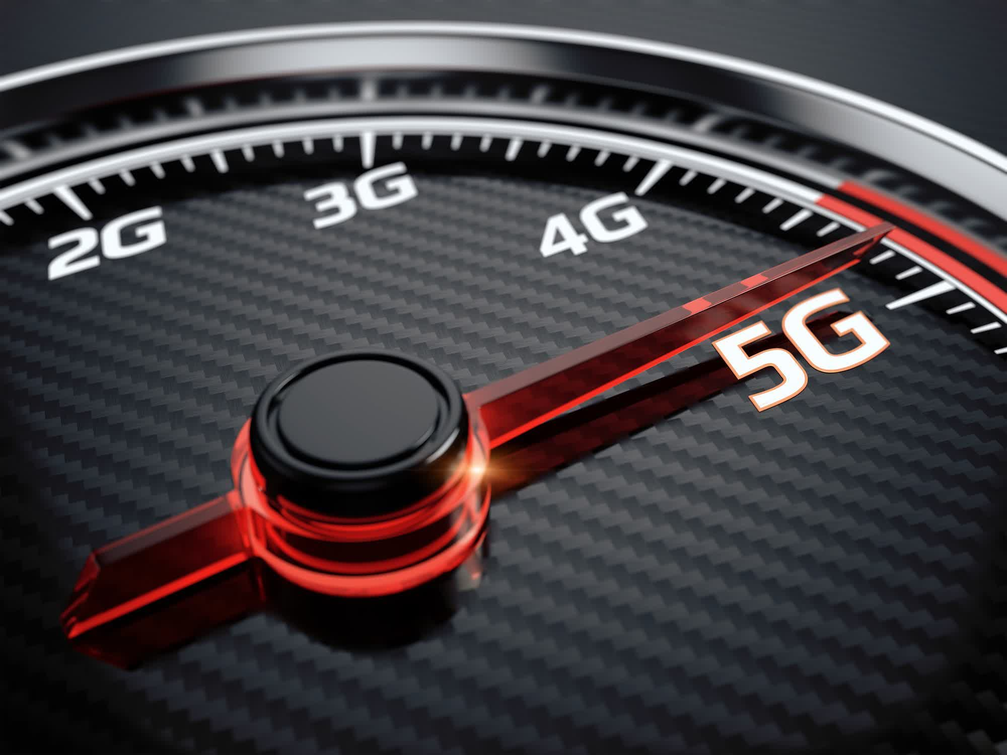 Report on countries' average 5G speeds places the US last