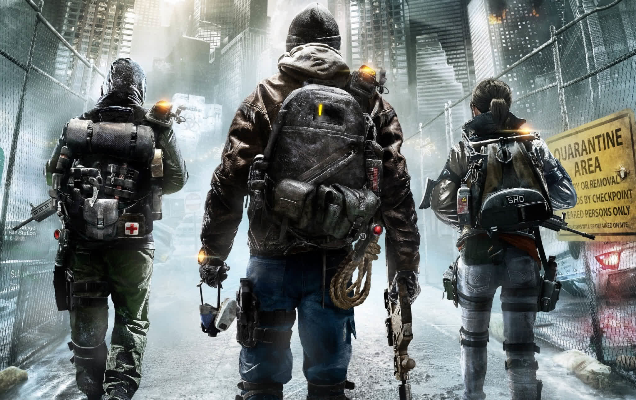 Claim your free copy of Tom Clancy's The Division through September 8