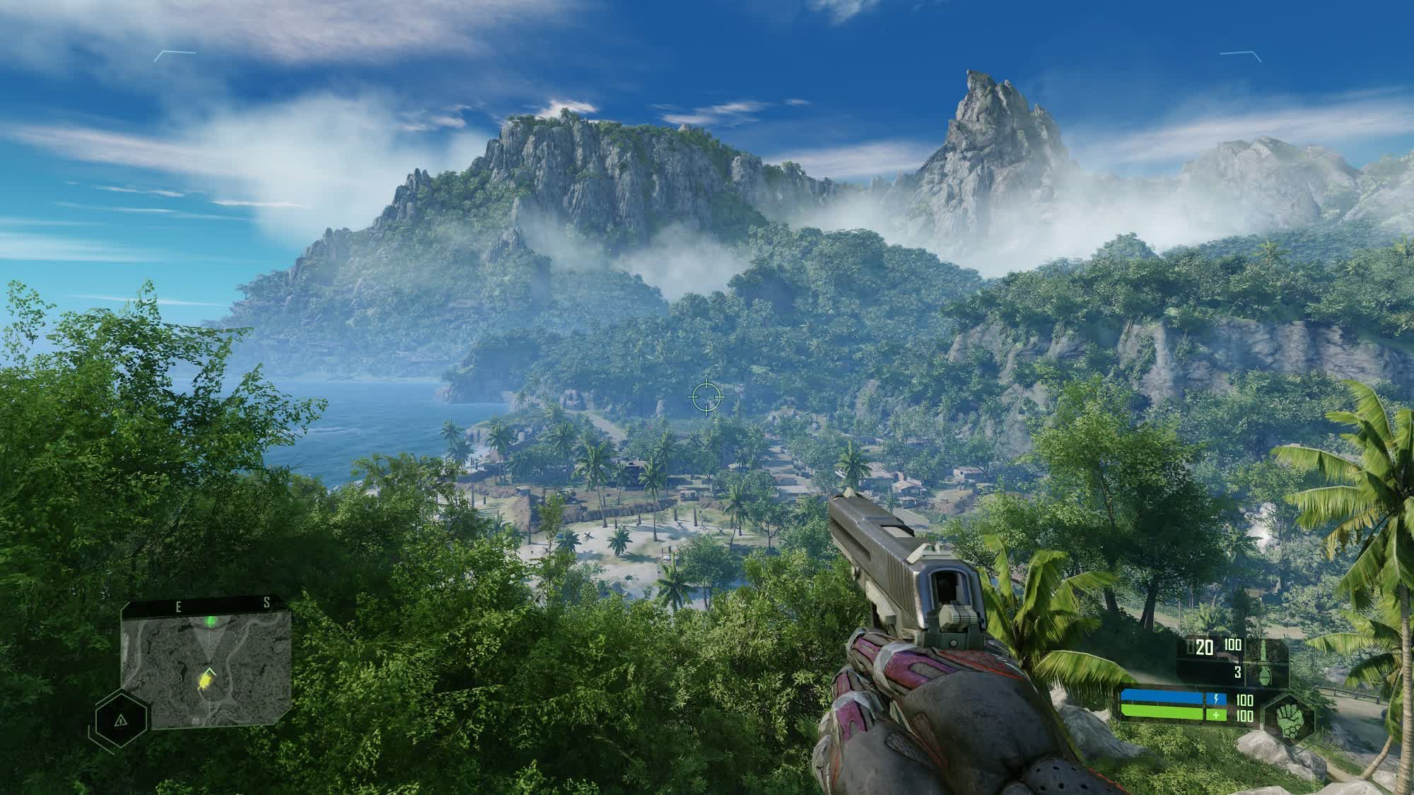Crysis Remastered's top graphics setting is called Can it Run Crysis? Crytek releases 4K screenshot