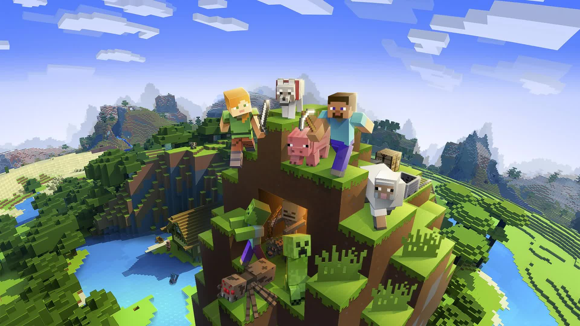 Mojang Studios is adding PS VR support to Minecraft later this month