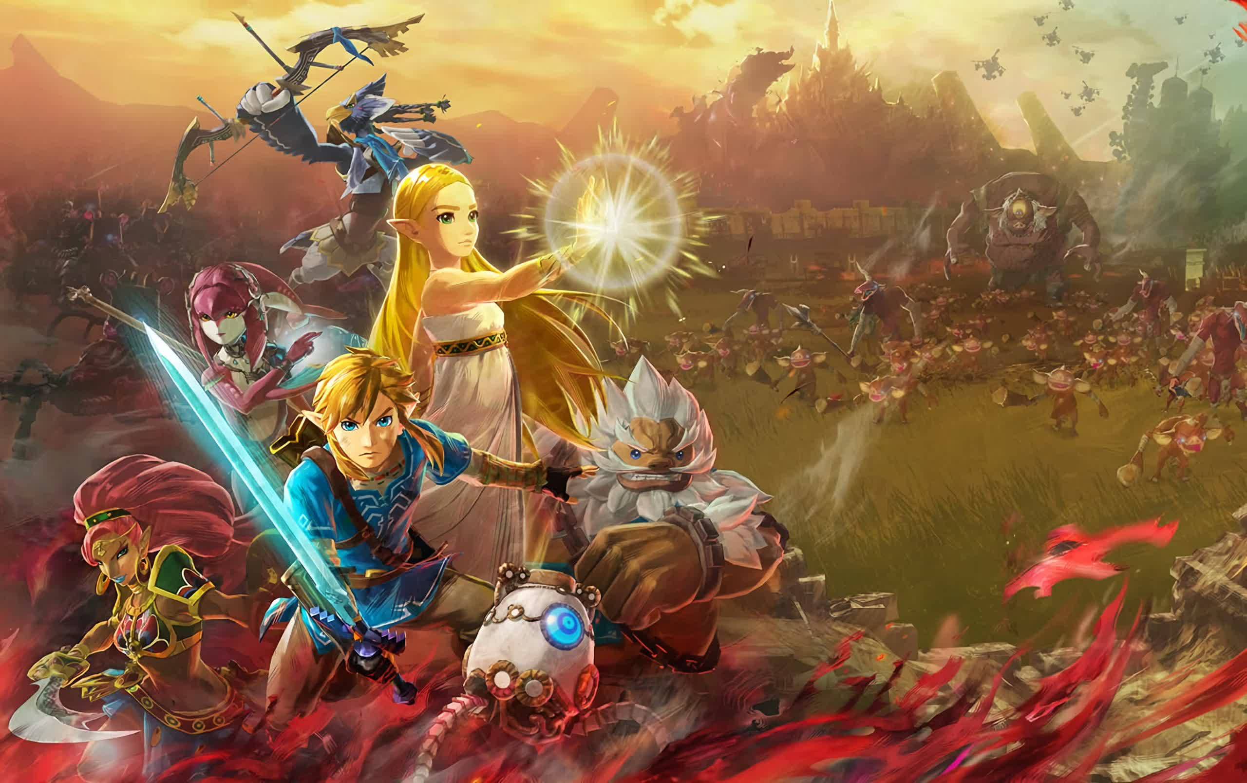 Nintendo surprise announcement pegs Hyrule Warriors: Age of Calamity for November release