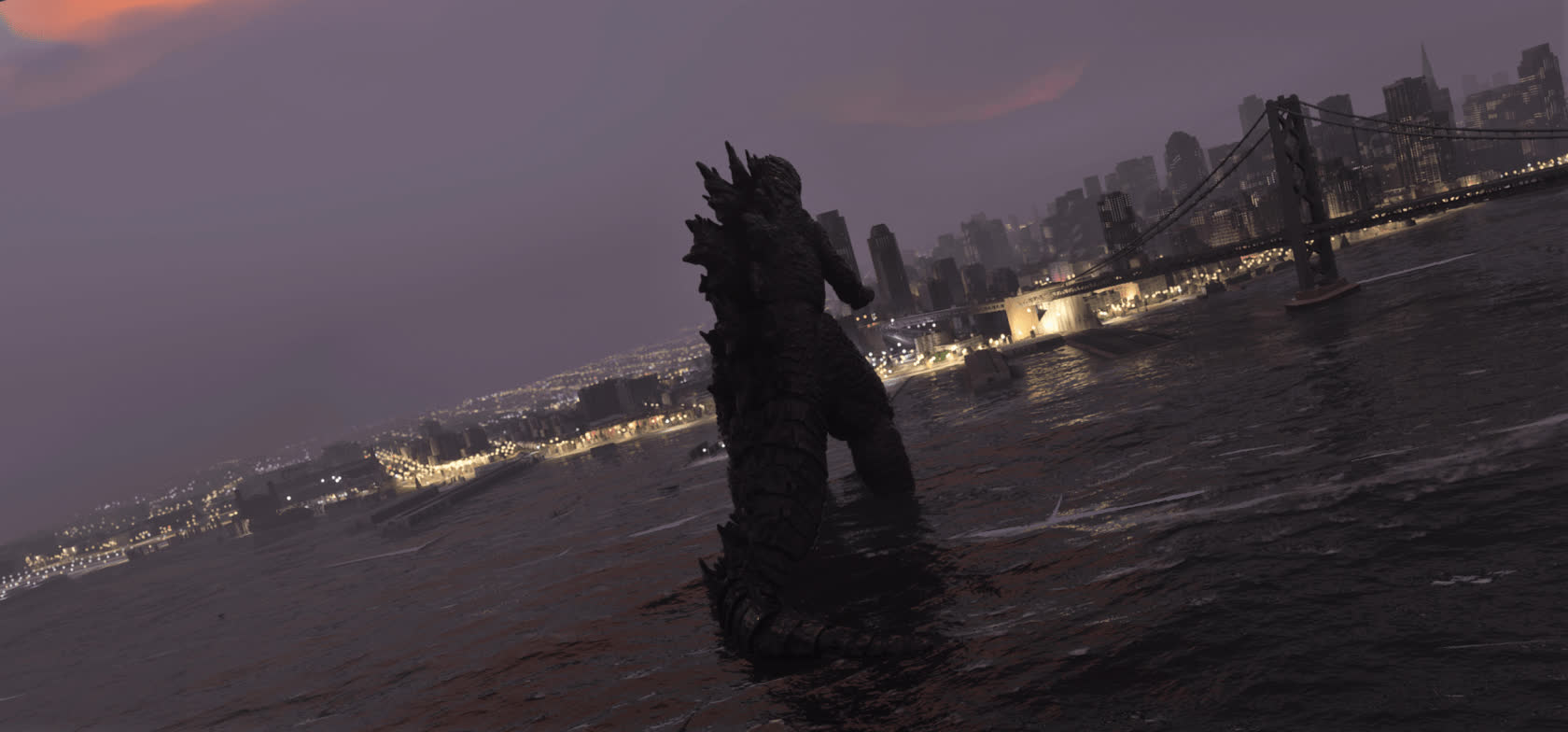 Godzilla has arrived in Flight Simulator 2020 courtesy of a player-made mod