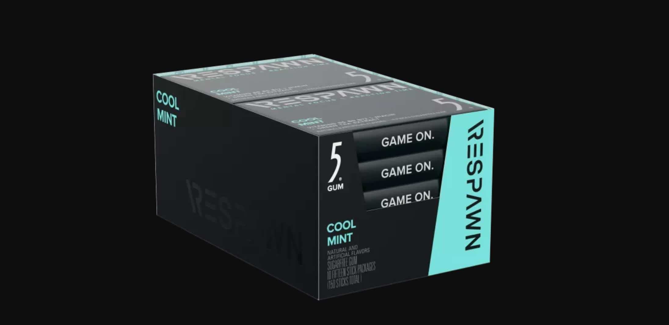 Razer unveils Respawn gum that improves your gaming skills, supposedly