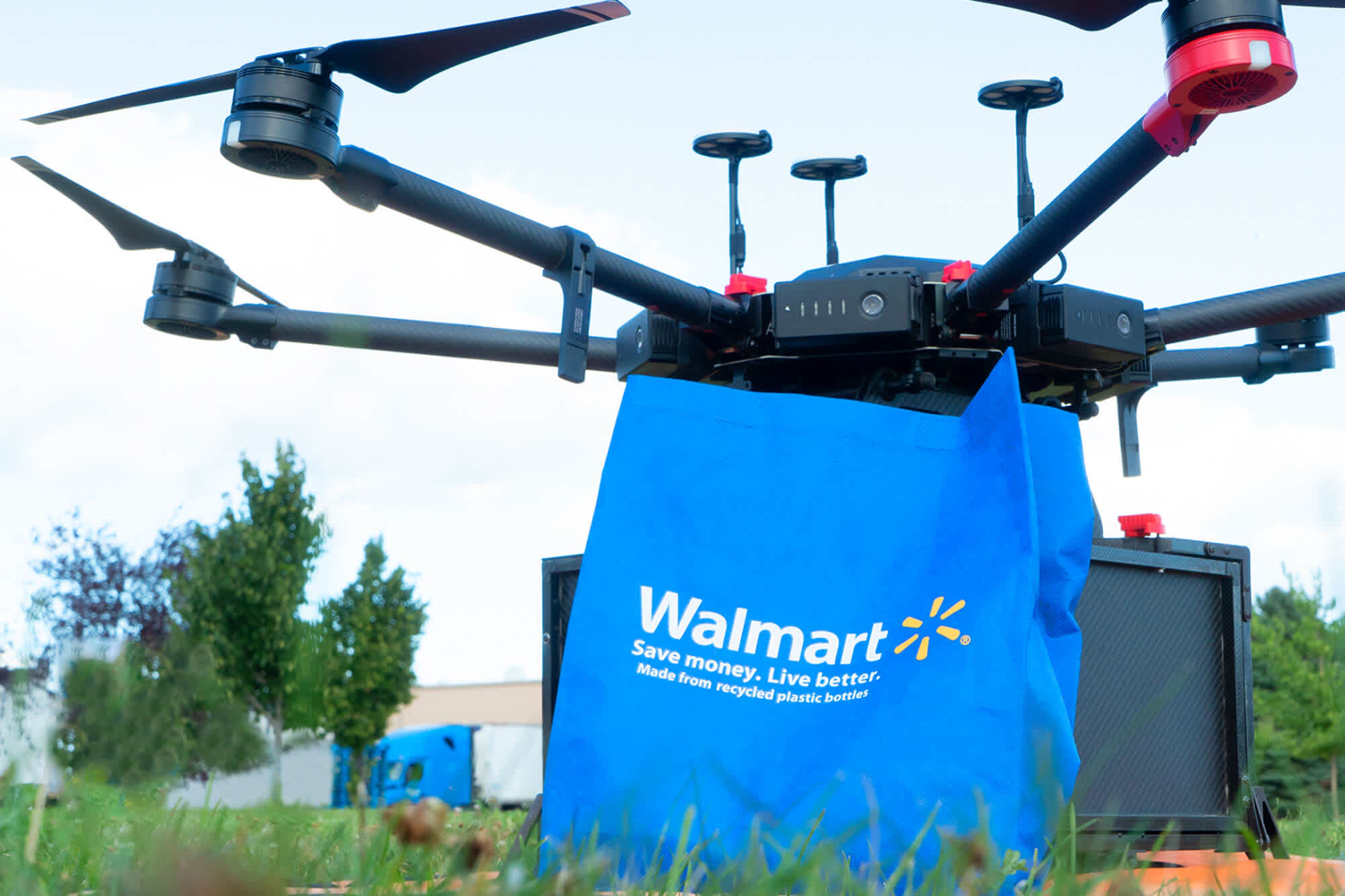 Walmart is testing drones to deliver orders to shoppers