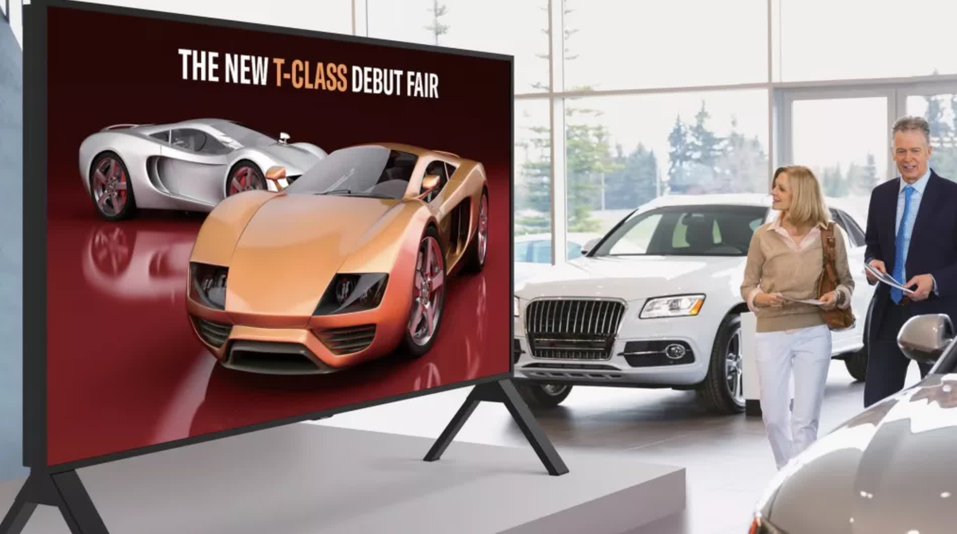 Sharp's new 120-inch 8K display features 2,048 dimming zones, a 120Hz refresh rate, and more