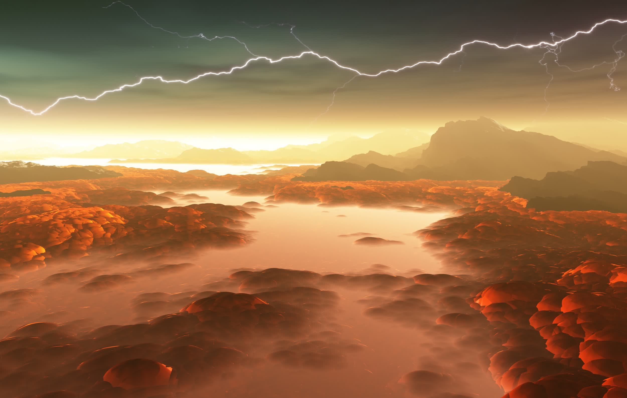 Astronomers may have found signs of life in the atmosphere of Venus