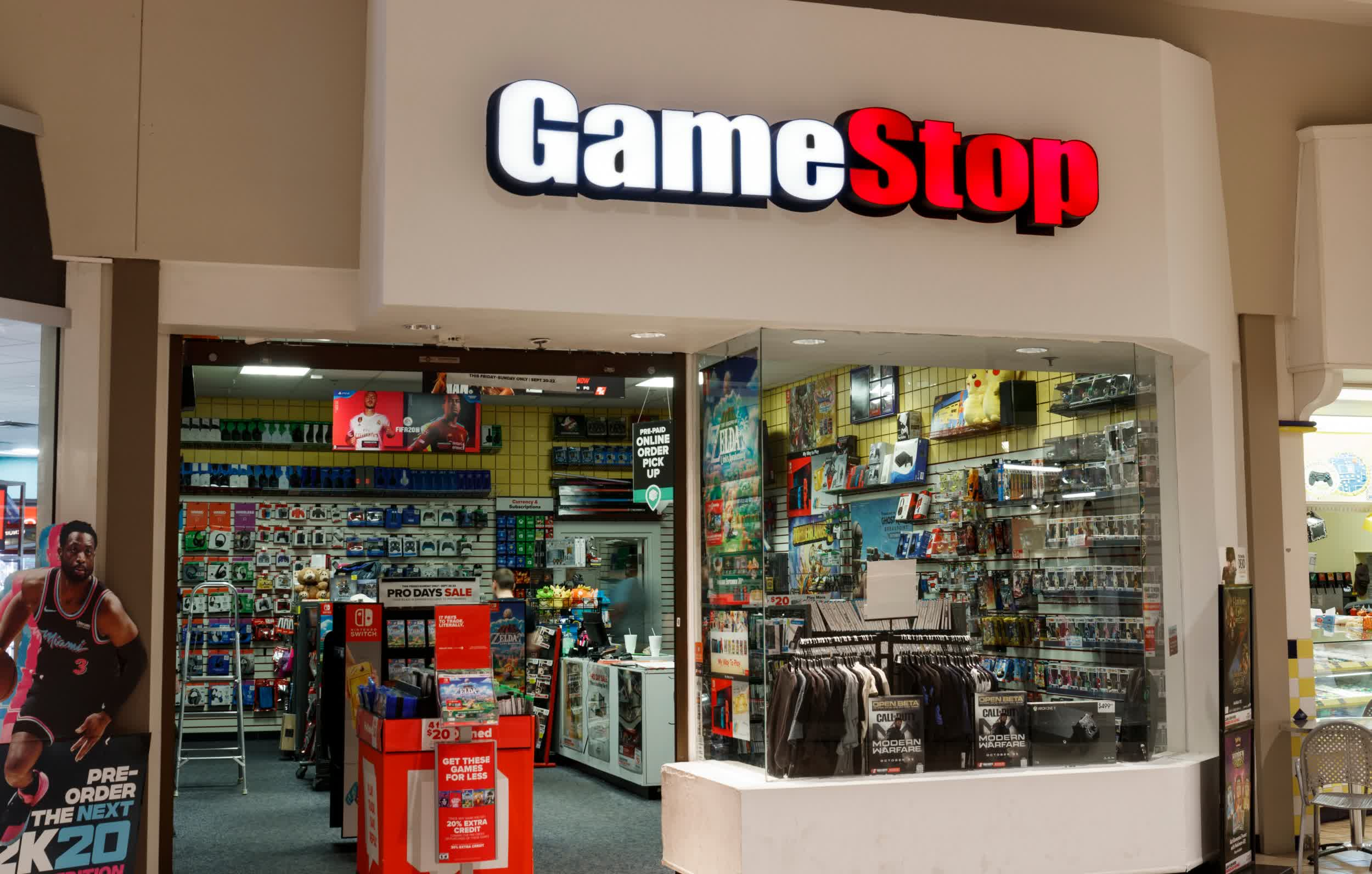GameStop expands into PC hardware, now selling RTX 3000 cards