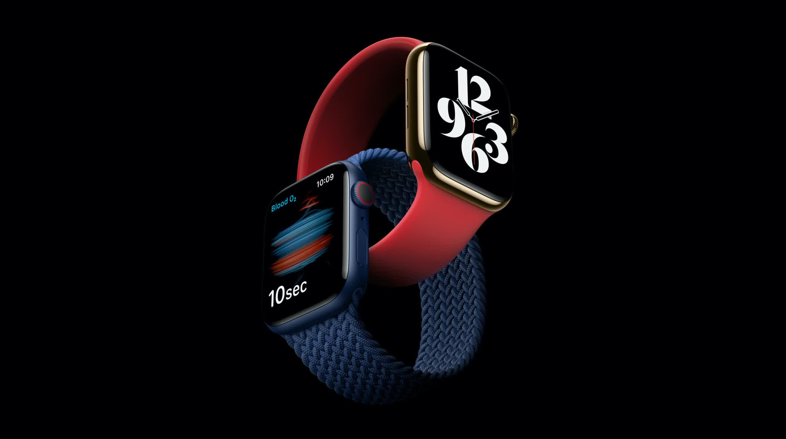Apple Watch Sequence 6 is sooner, extra energy-environment friendly, and can music blood oxygen ranges thumbnail