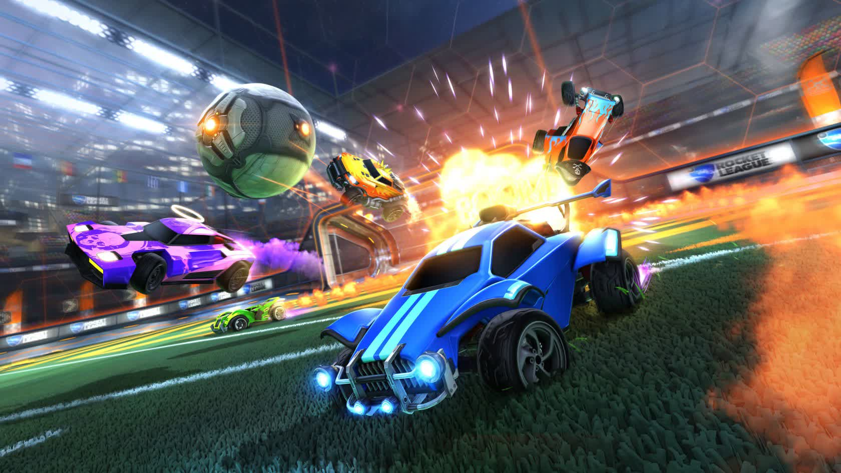 , Rocket League goes free-to-play on September 23