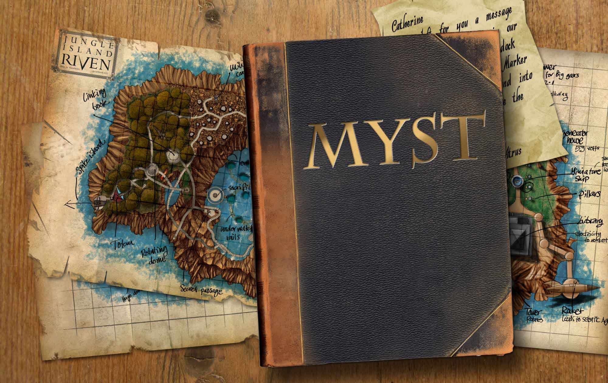 Myst is being reimagined for virtual reality