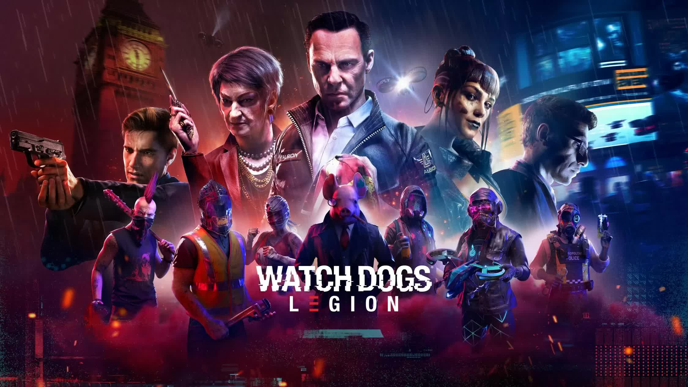 Ubisoft reveals PC system requirements for Watch Dogs: Legion