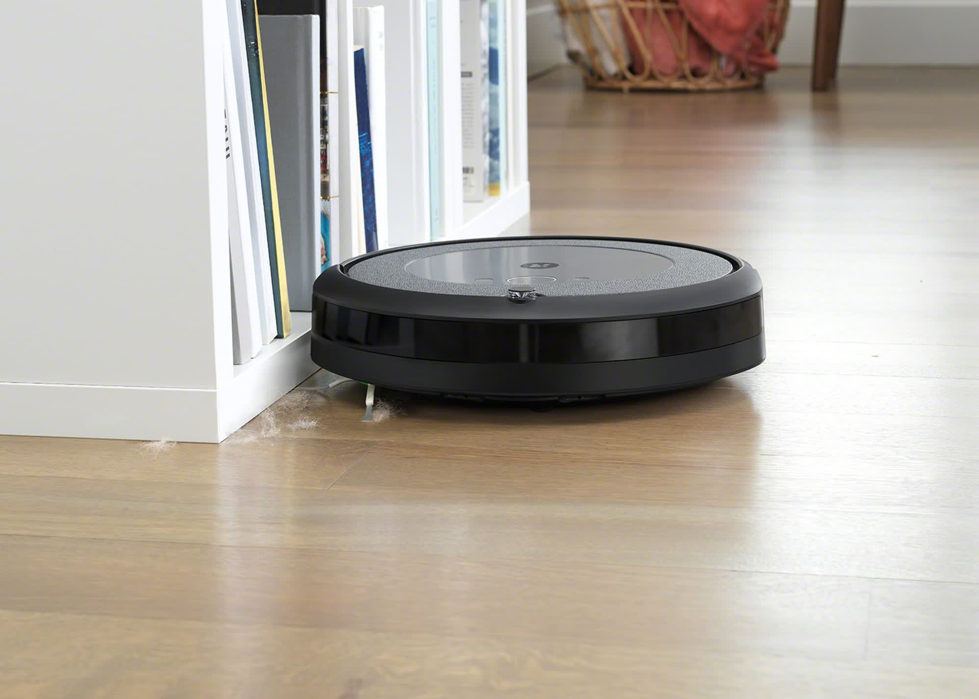 iRobot's new Roomba i3+ features automatic dirt emptying