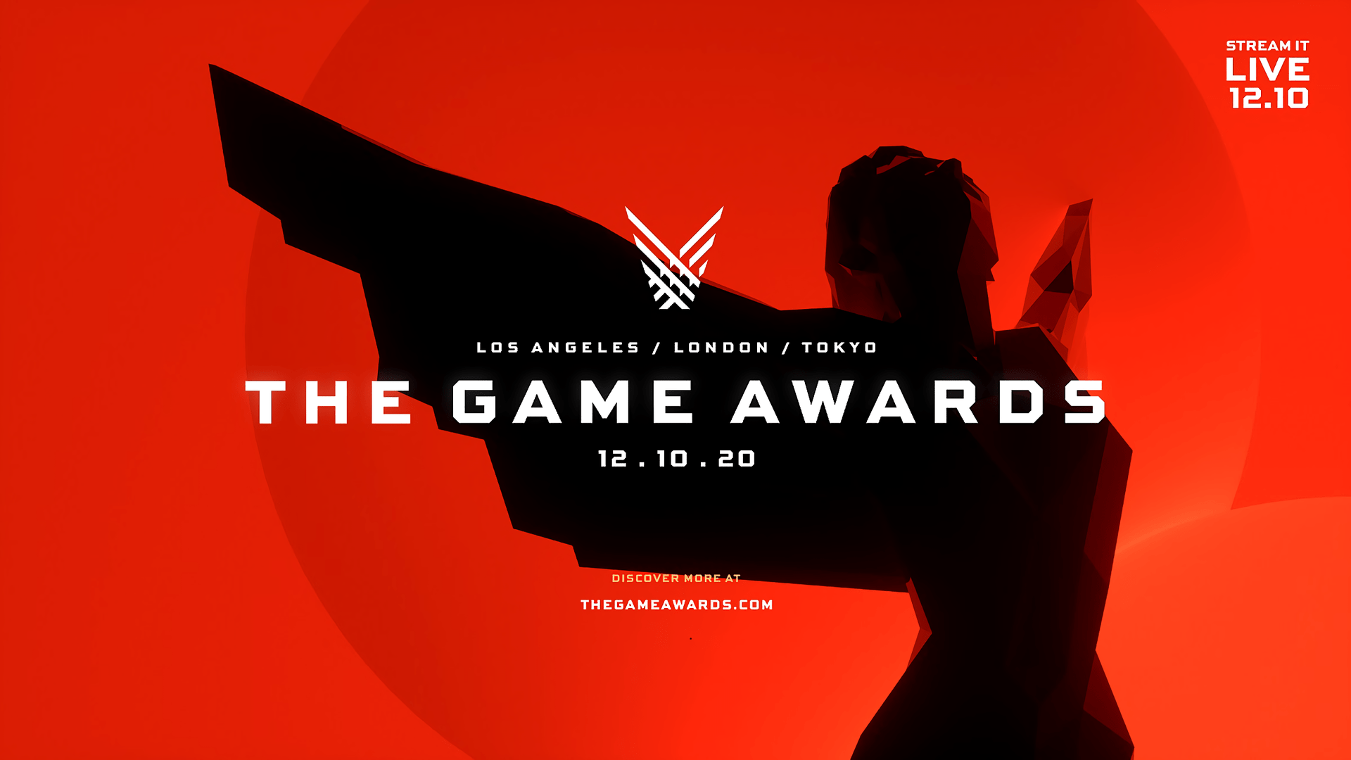 The Game Awards returns on December 10 as an all-digital event