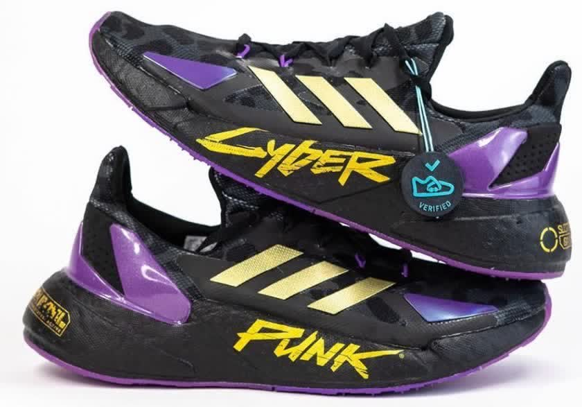 Check out these Cyberpunk 2077 sneakers by Adidas