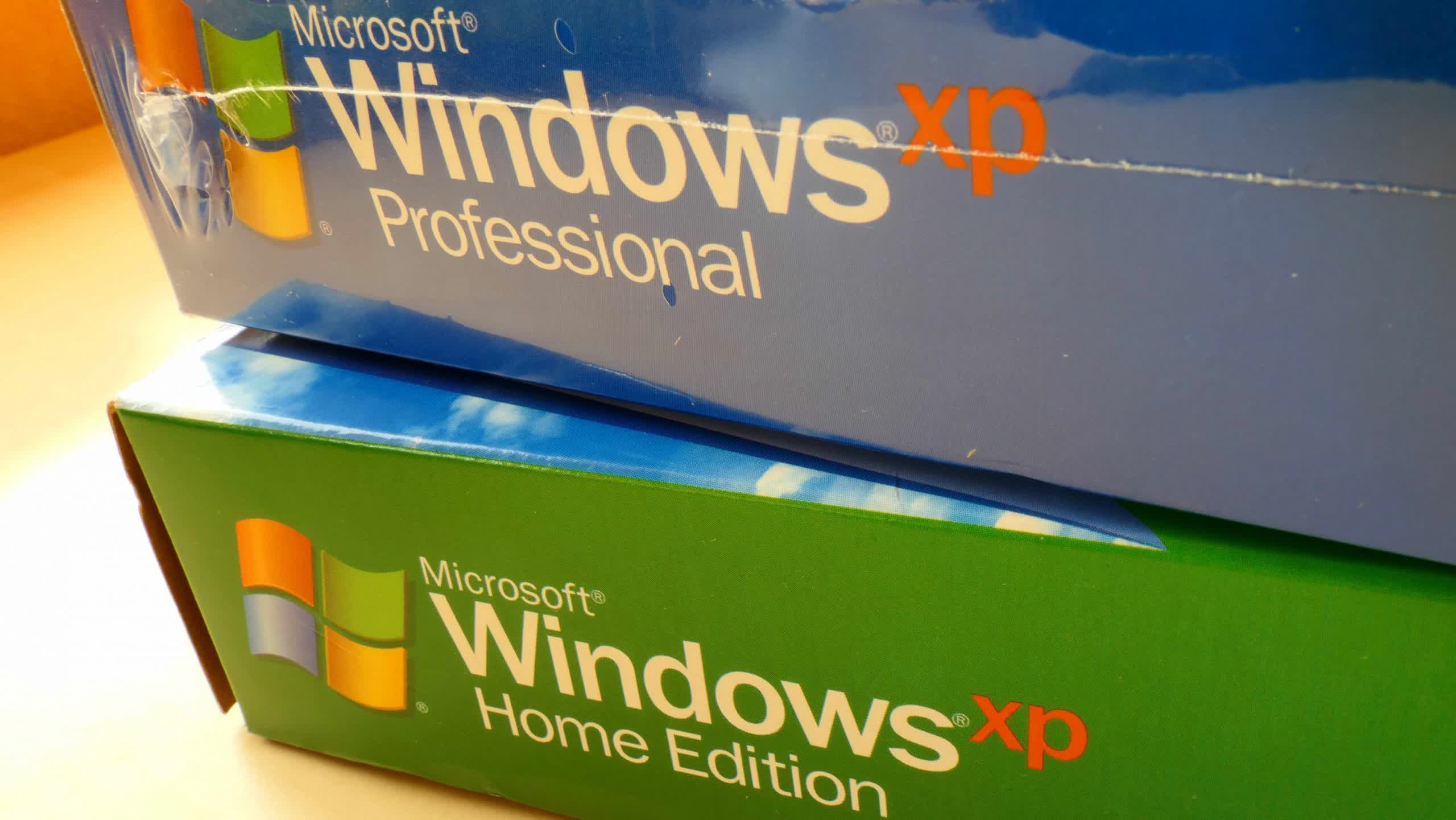 Windows XP source code has spilled out onto the internet