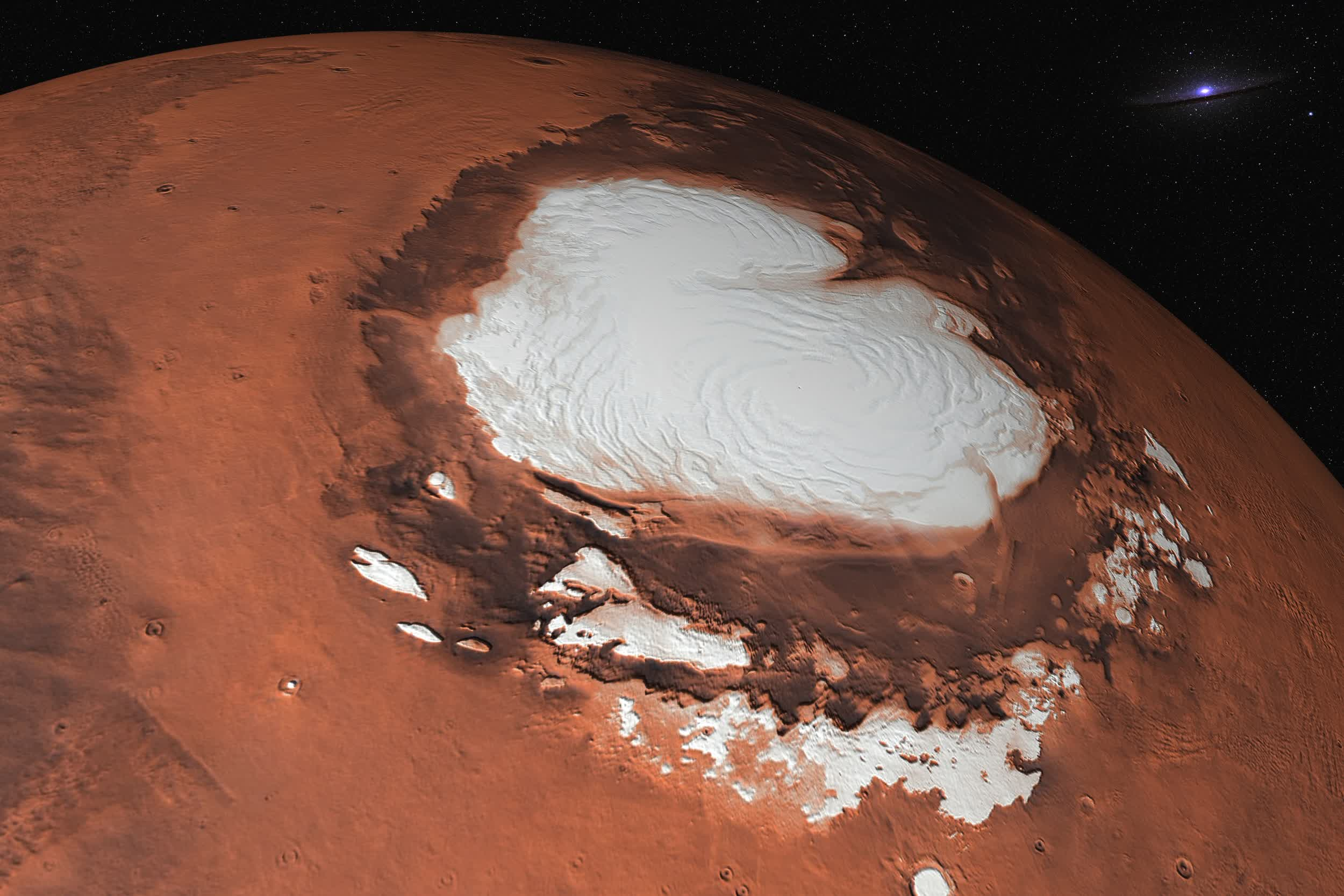 Researchers present additional evidence to support claim of liquid water on Mars
