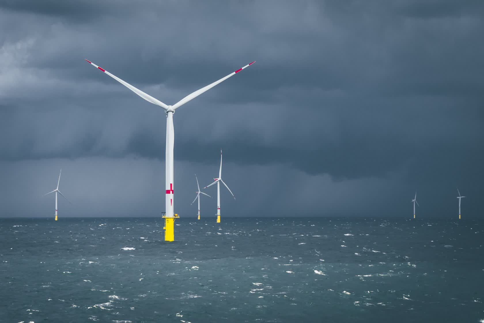 The UK aims to power each home with wind energy by 2030