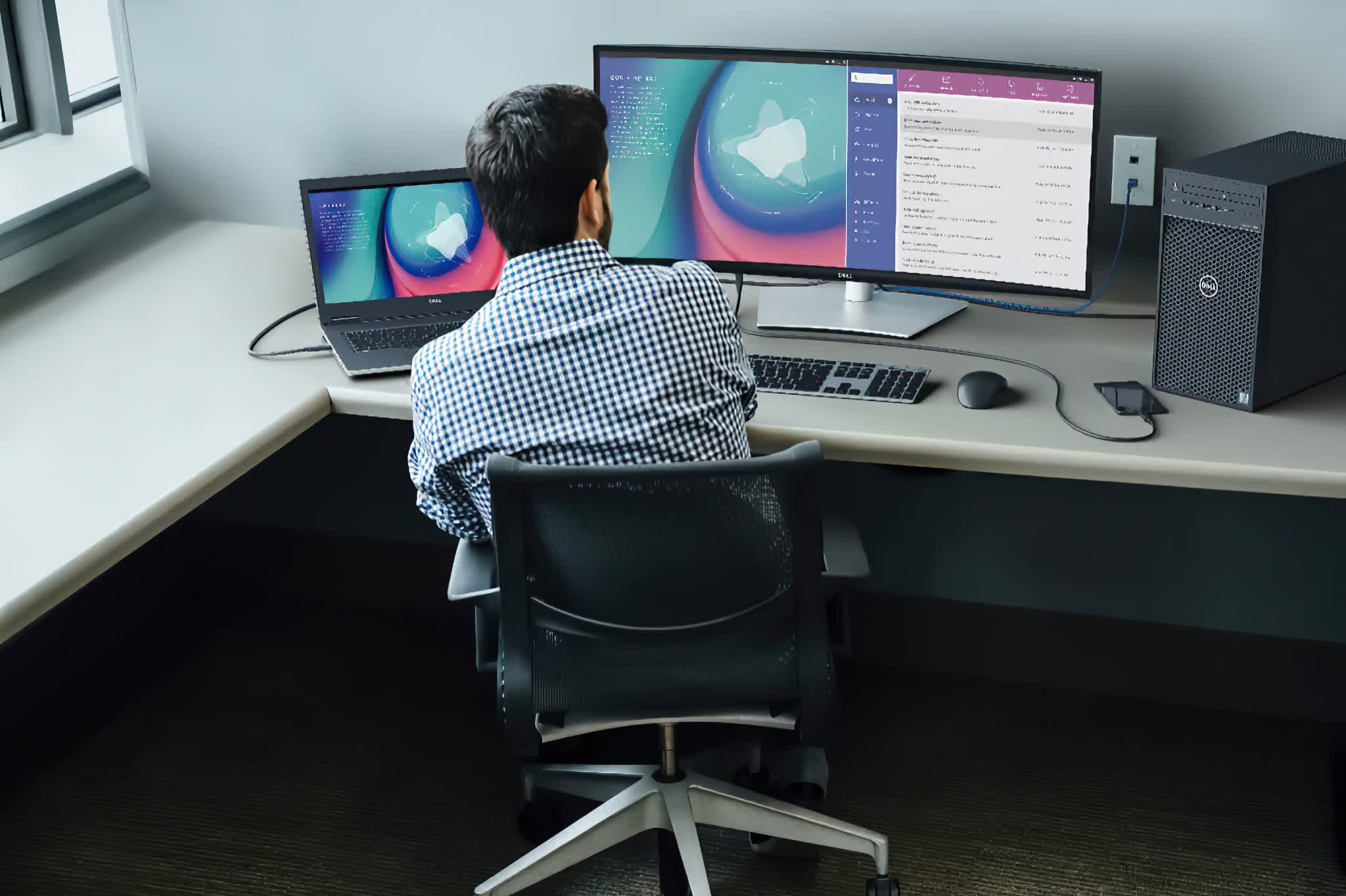 Dell UltraSharp monitors refresh: P-series with USB-C, mini-LED backlight, and more