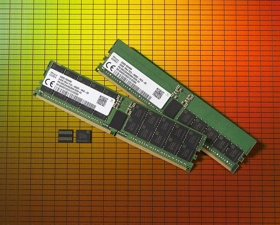 SK Hynix launches first DDR5 DRAM modules
