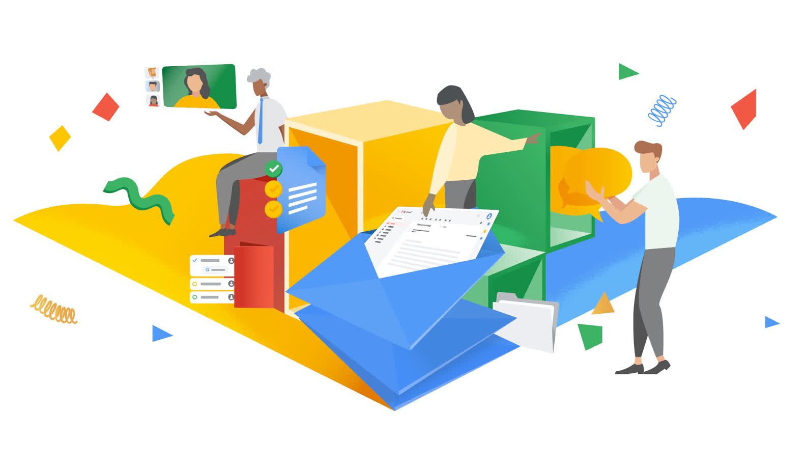 Google Workspace is the new G Suite, integrates many services, gets new logos, and more