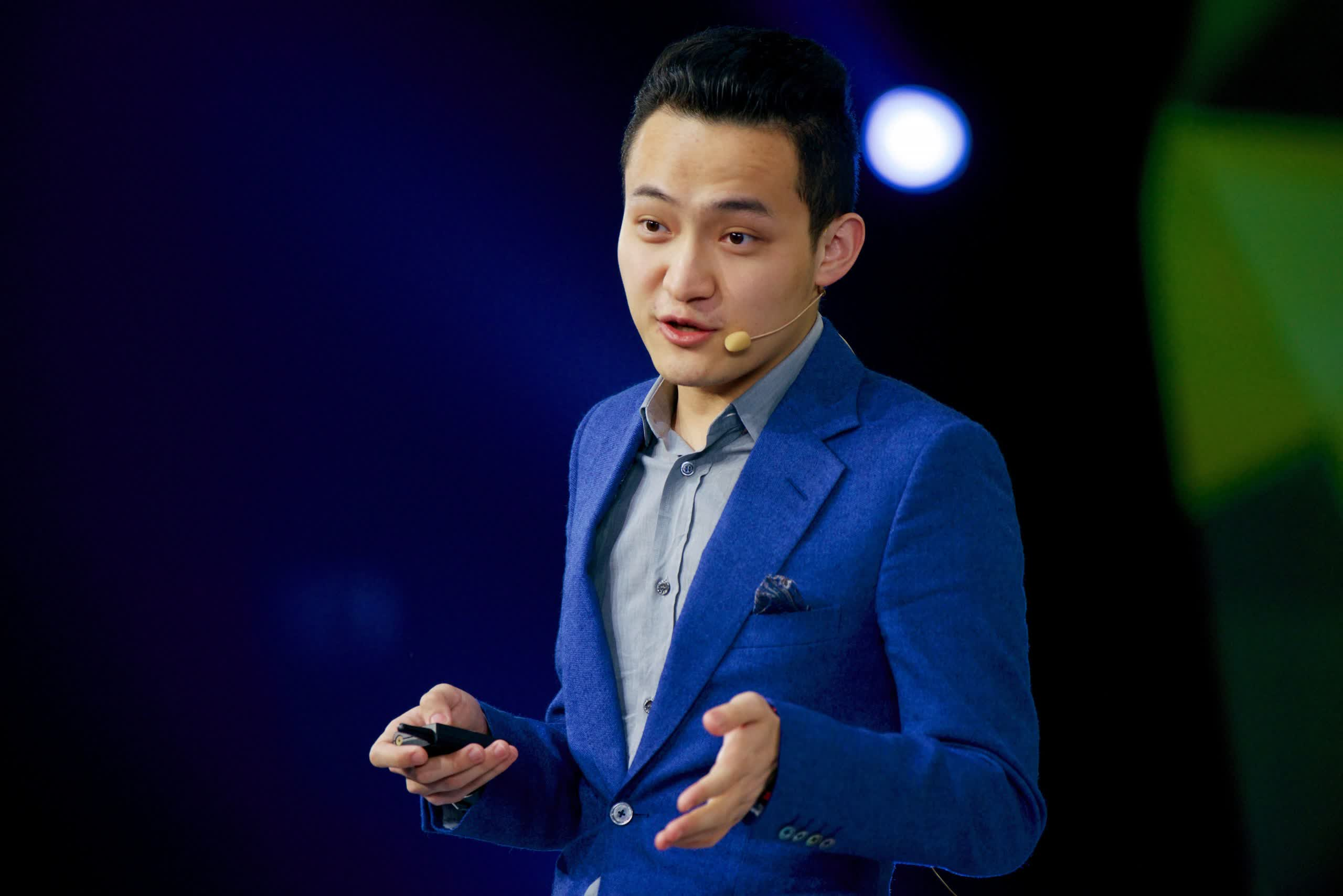 The Sun Genesis Mining token was announced by Tron Founder Justin Sun.