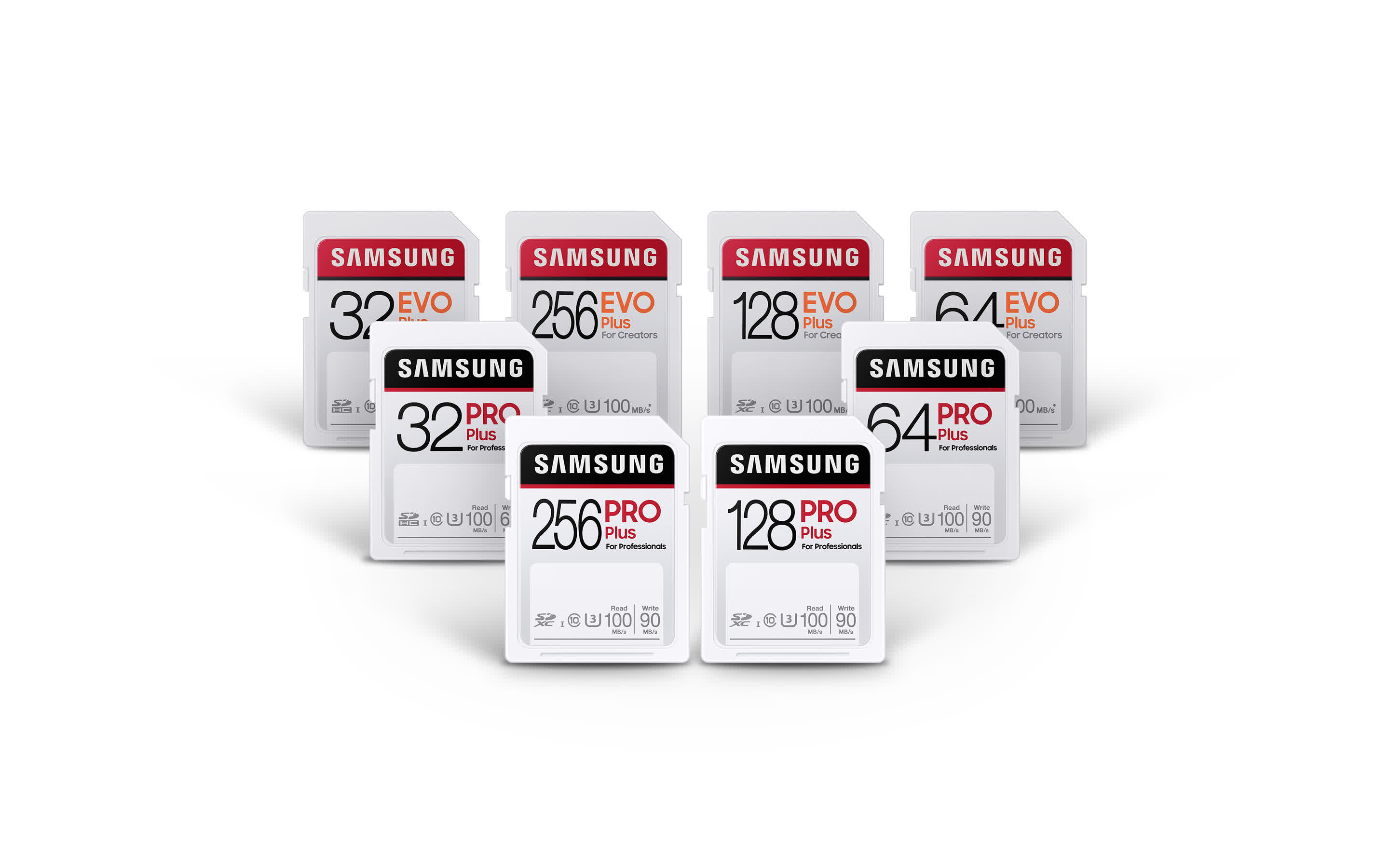 , Samsung launches new PRO Plus and EVO Plus lineup of SD cards for content creators