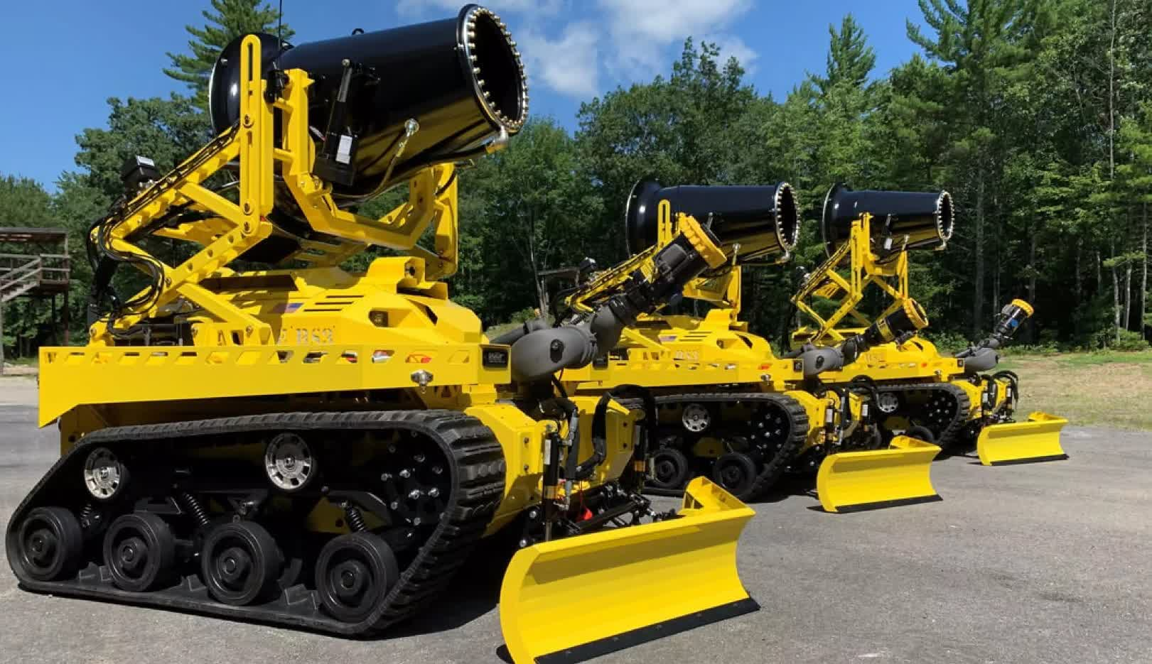 The United States gets its first firefighting robot