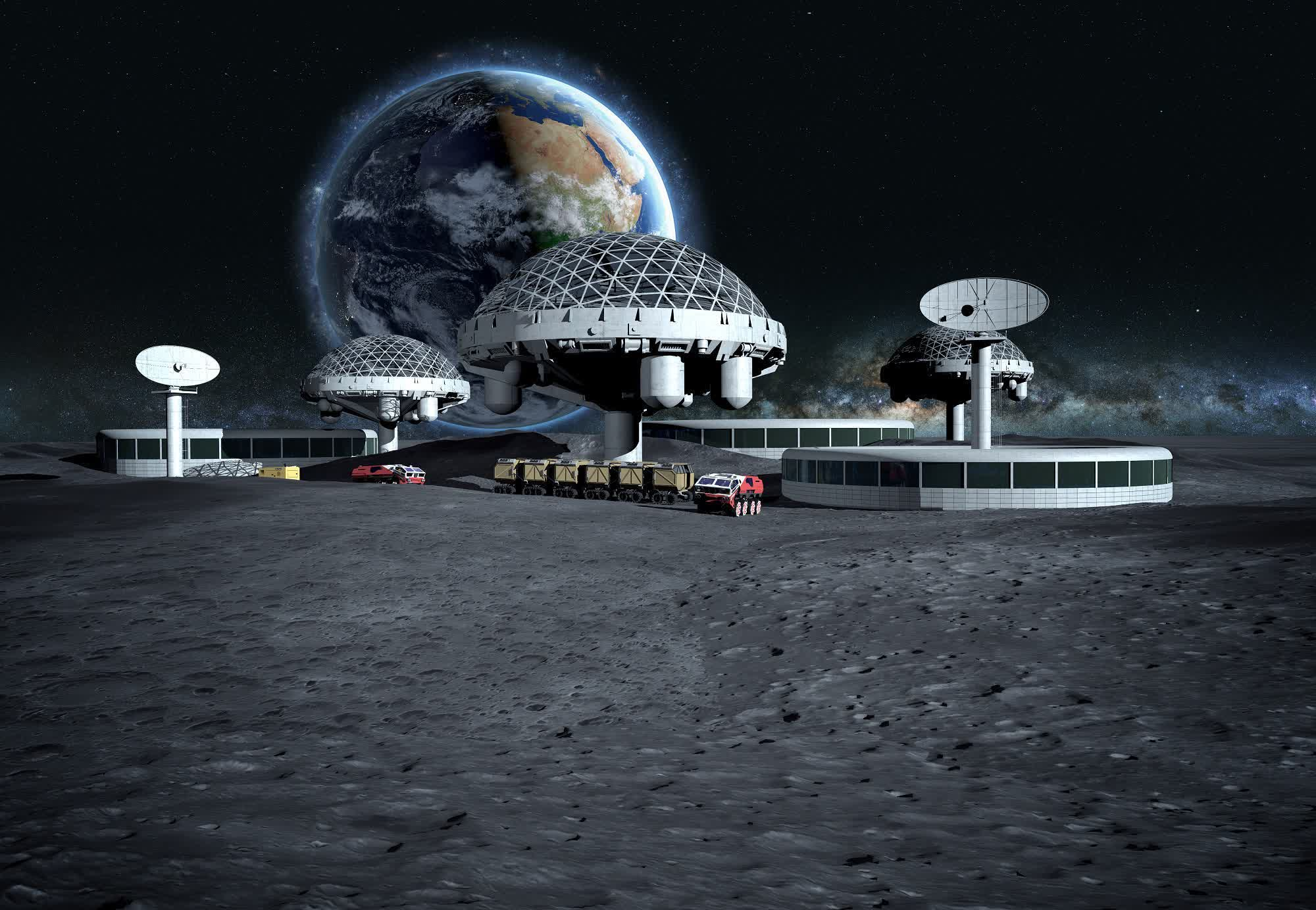 Nokia to build a 4G network on the moon