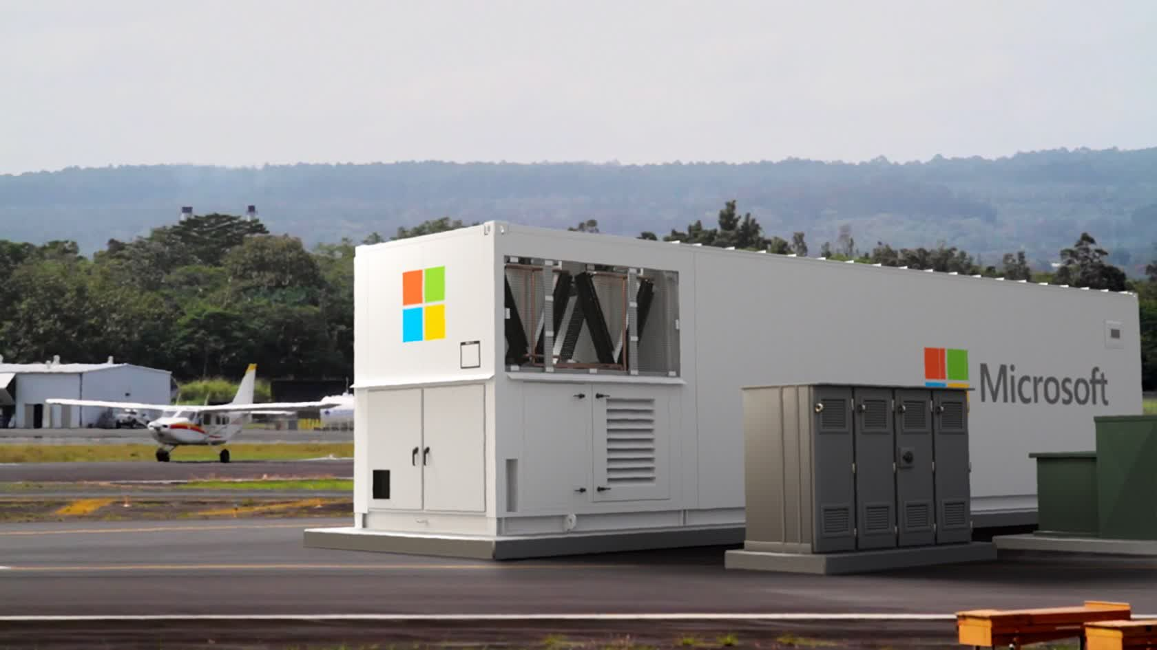 Microsoft develops a portable, box-shaped data center to bring the cloud to remote areas