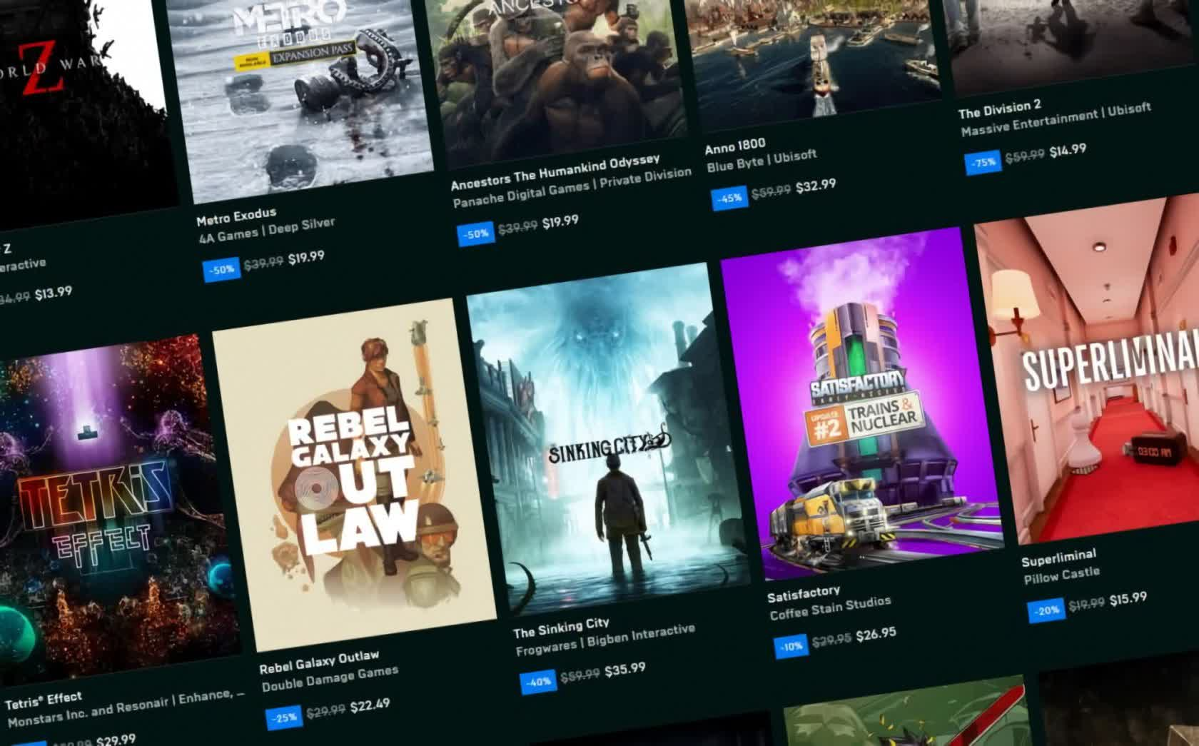 The Epic Games Store's first Halloween sale is here