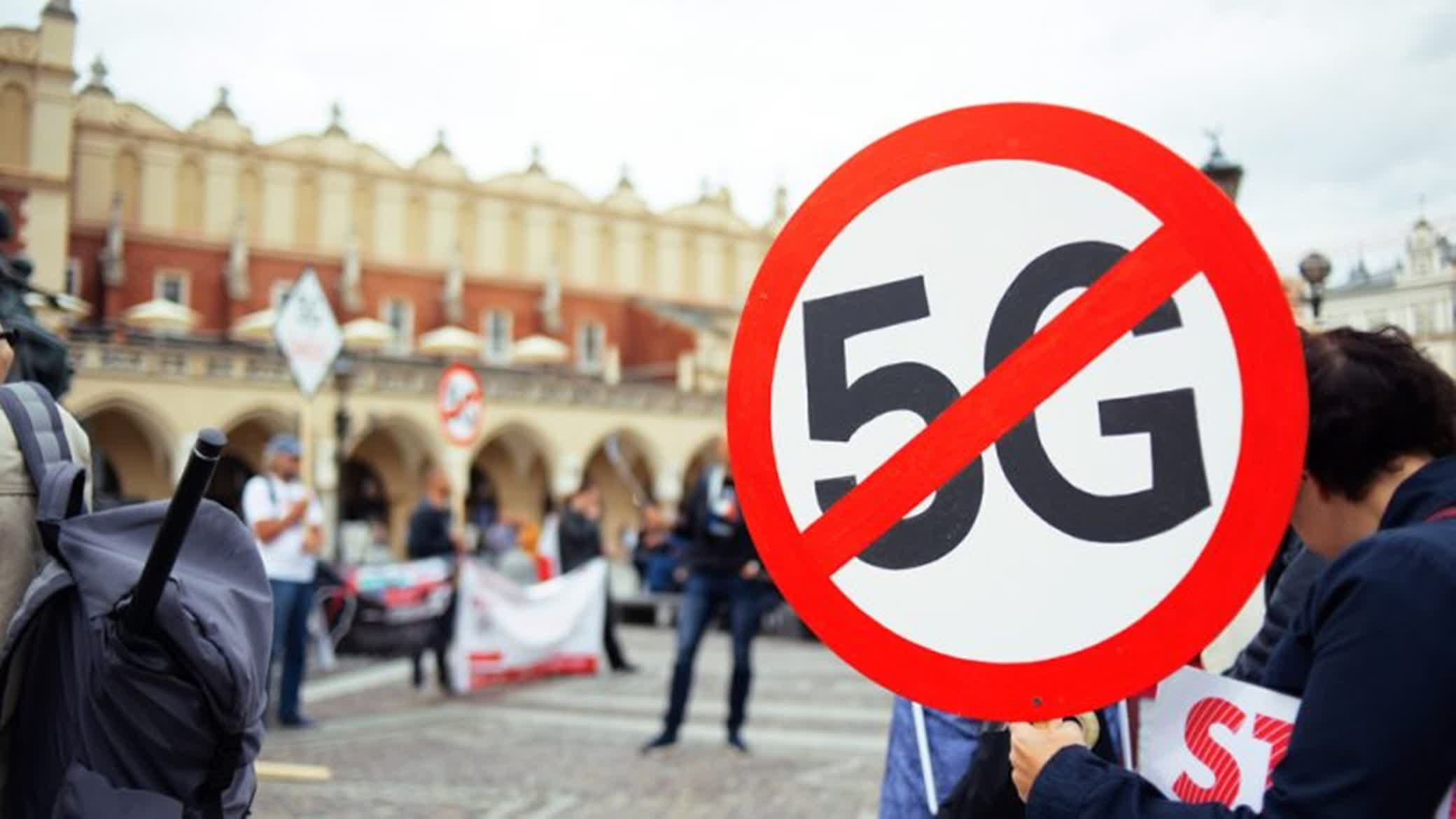 There has been some public resistance to 5G networks in Europe.