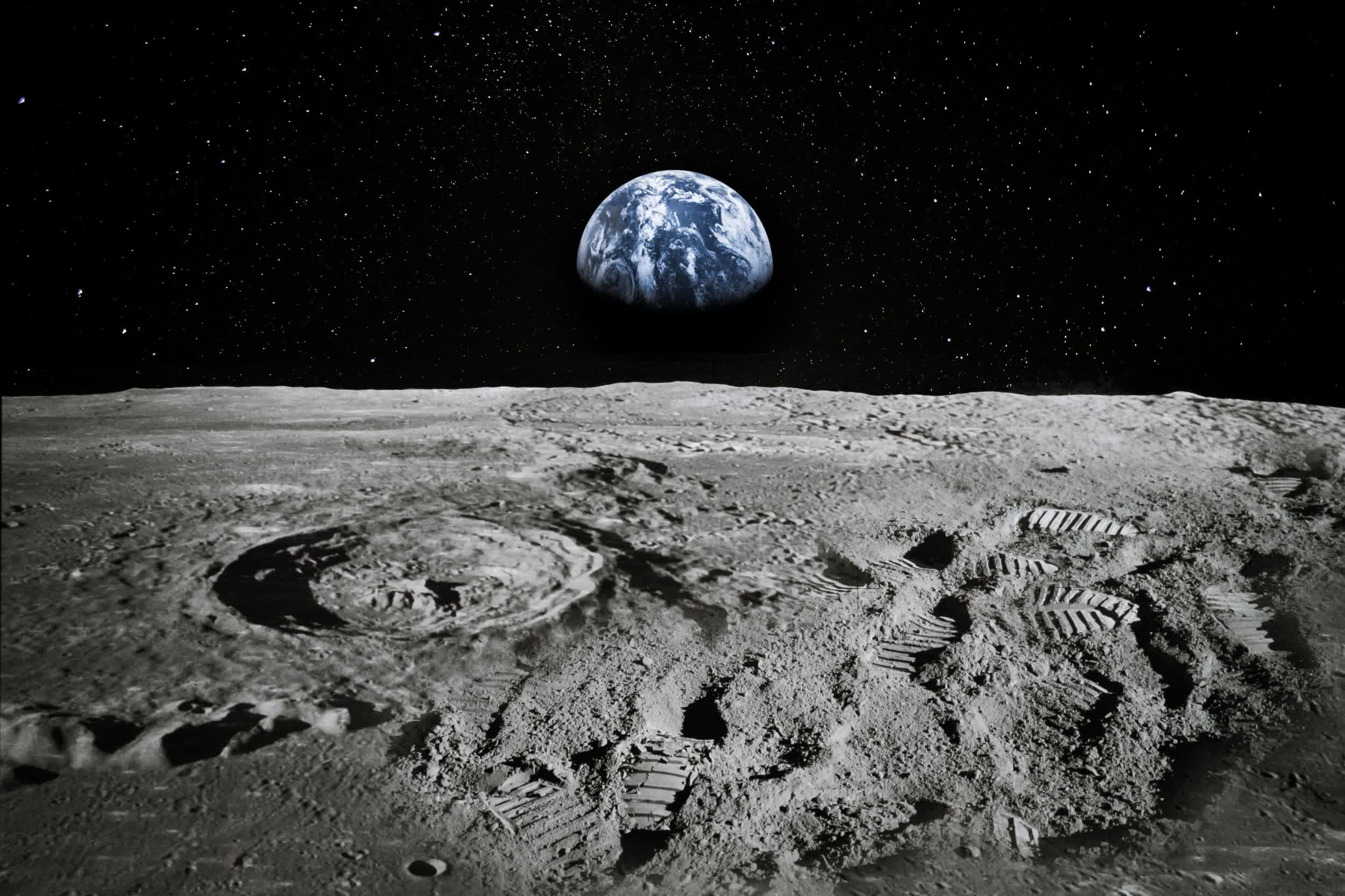 NASA has found water on a sunlit area of the Moon