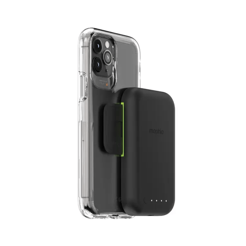 Mophie's new Juice Pack Connect clips a 5,000mAh battery pack to the back of your phone