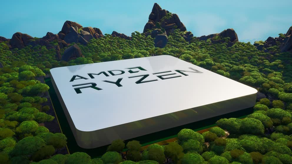 AMD launches Radeon RX 6000/Ryzen 5000 Fortnite maps alongside competition to win processors and graphics cards