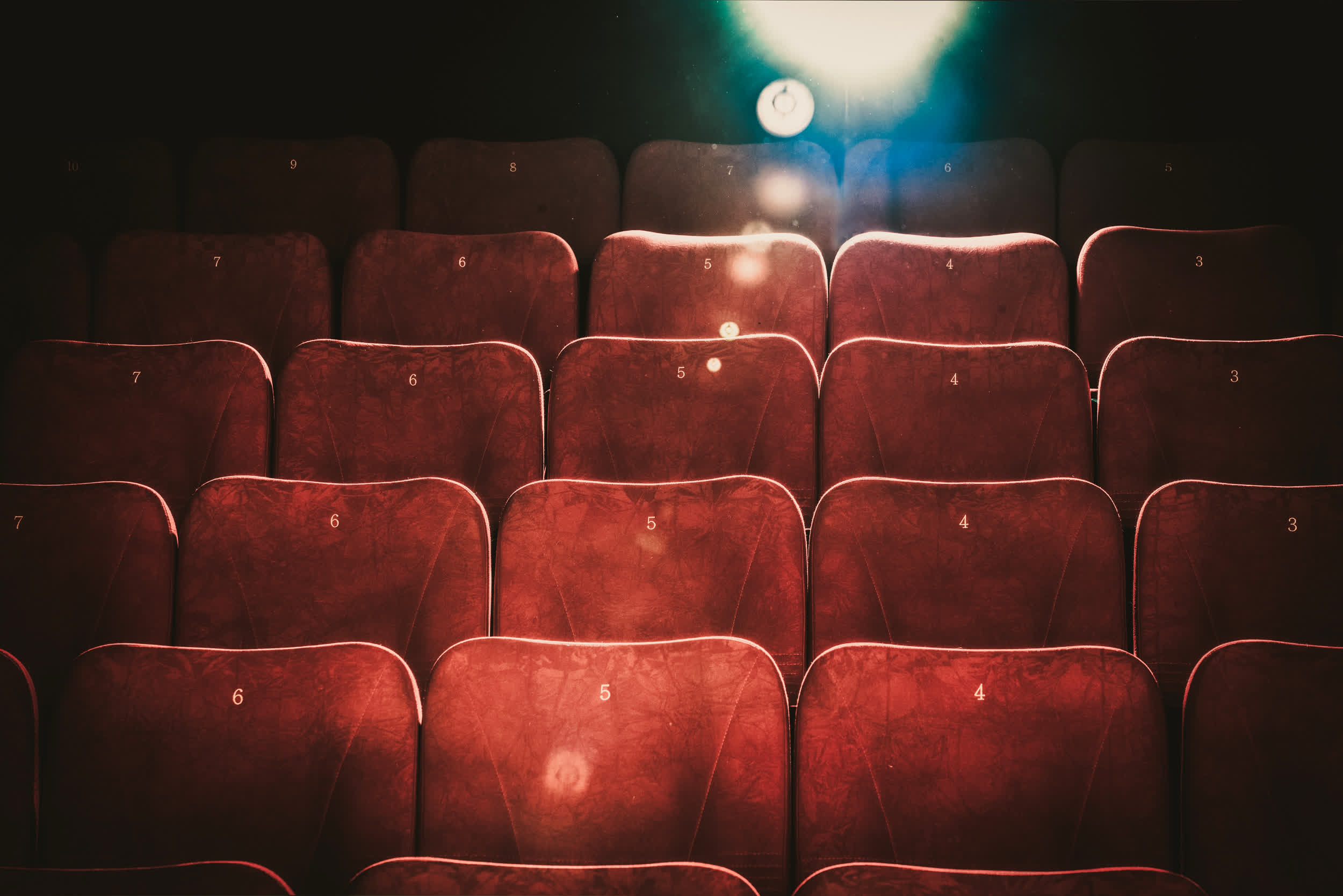 Attendance at AMC theaters in the US dipped 96.8 percent year over year in Q3